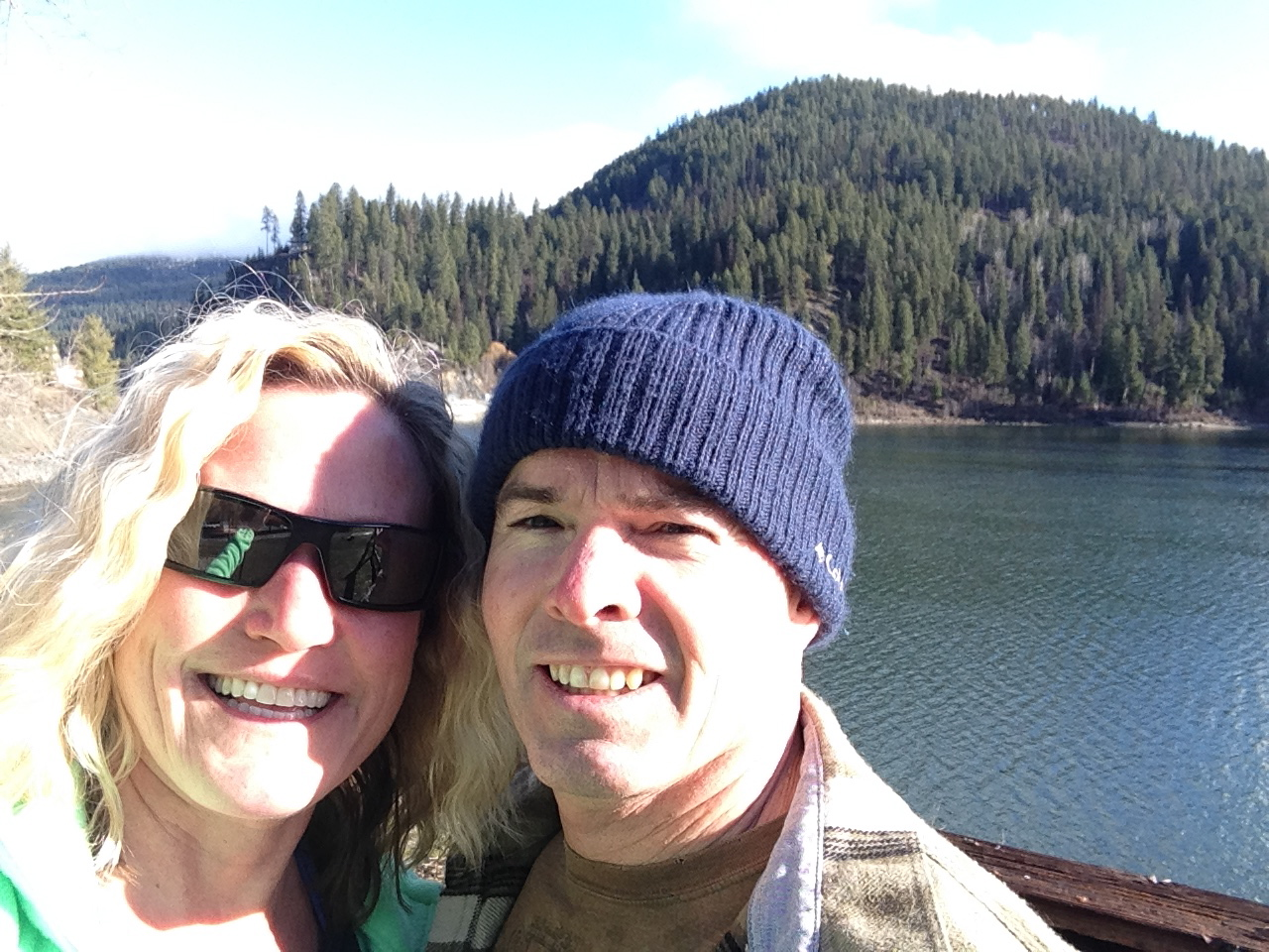 We took a Sunday drive up to the Boundary Dam.
