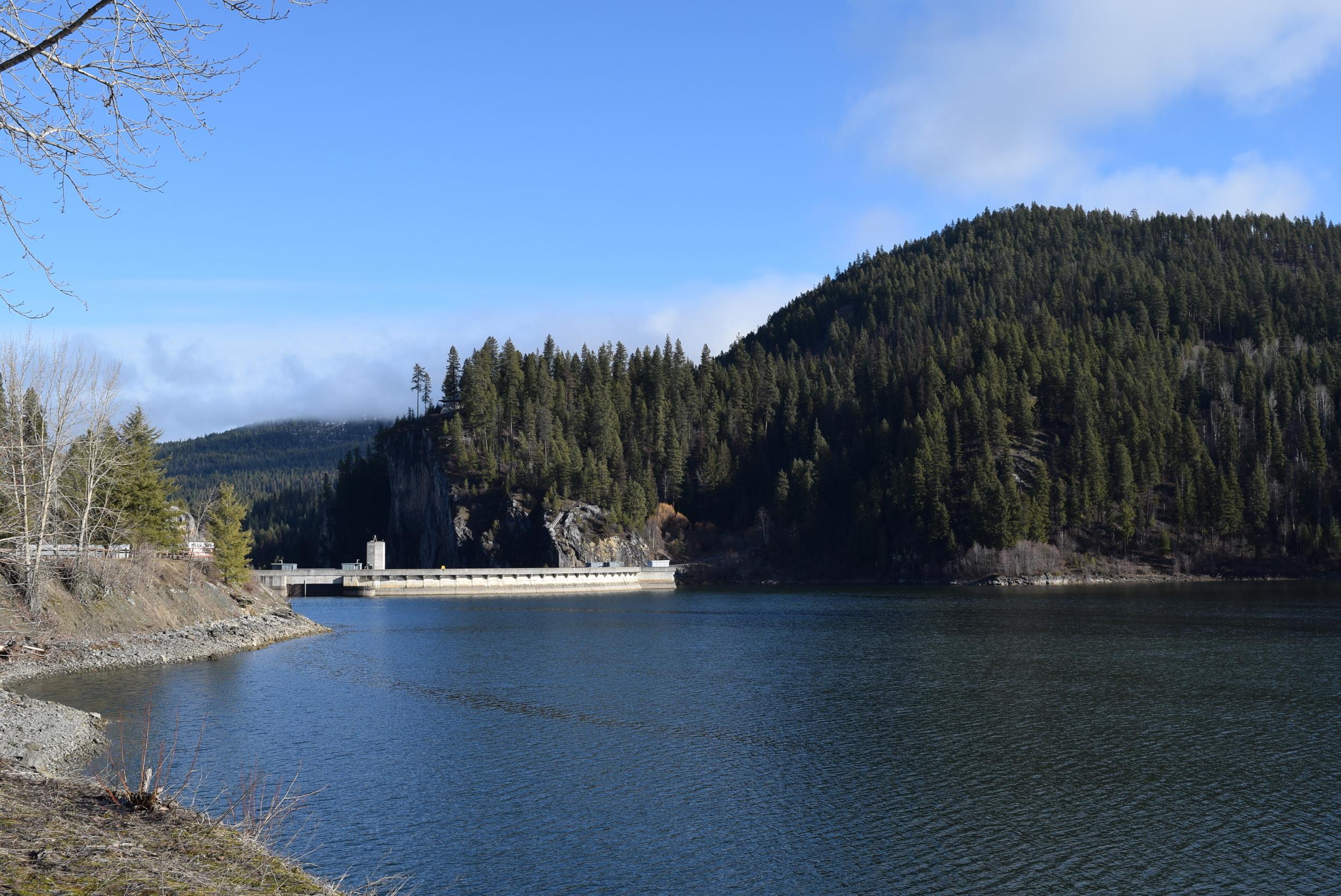 The Boundary Dam.