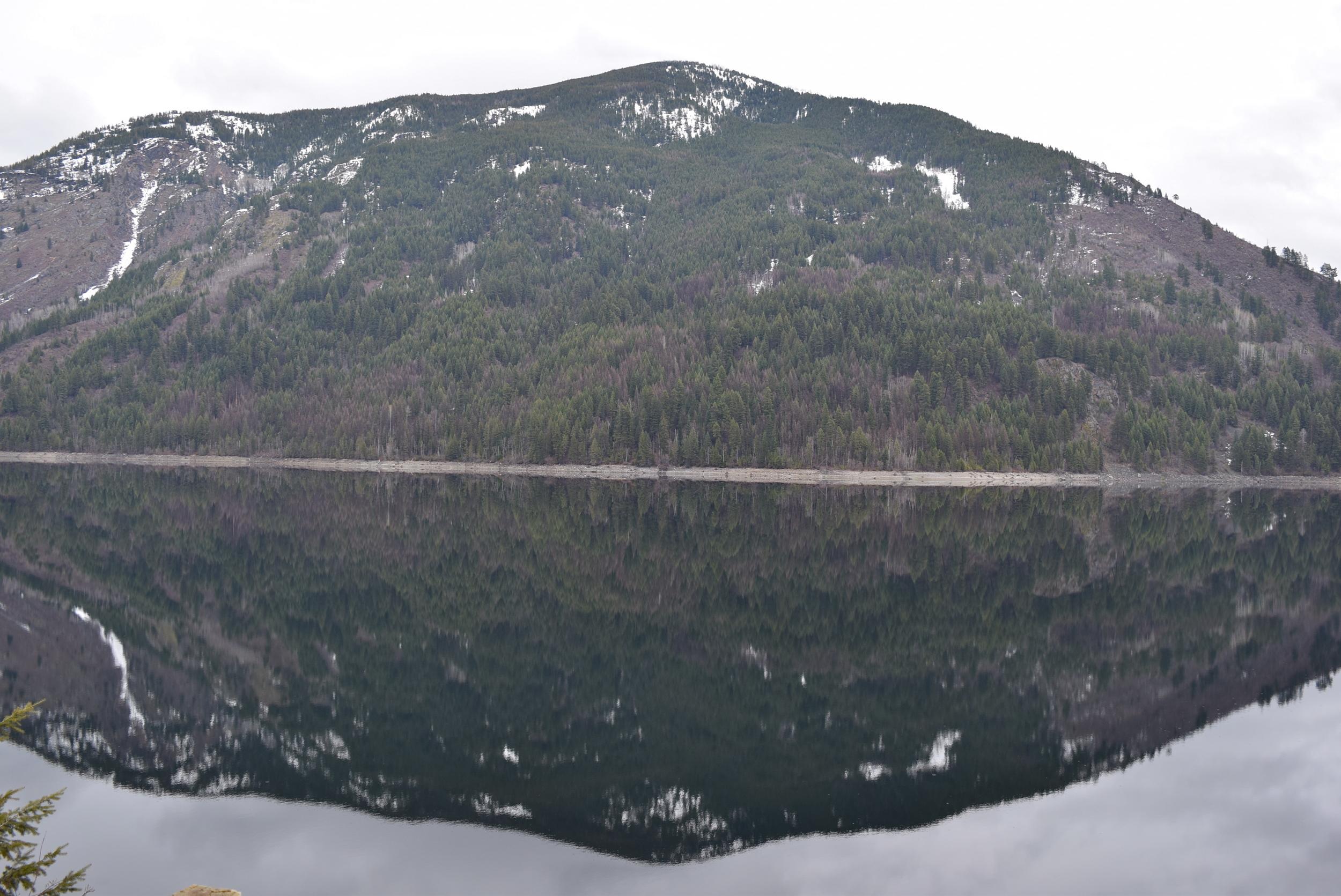 Sullivan Lake reflection.
