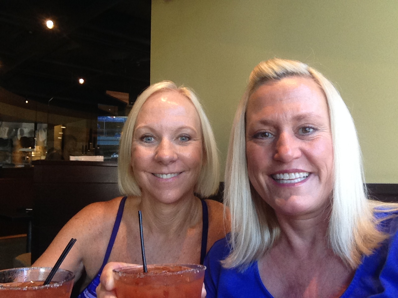 A bloody mary toast to our friendship.