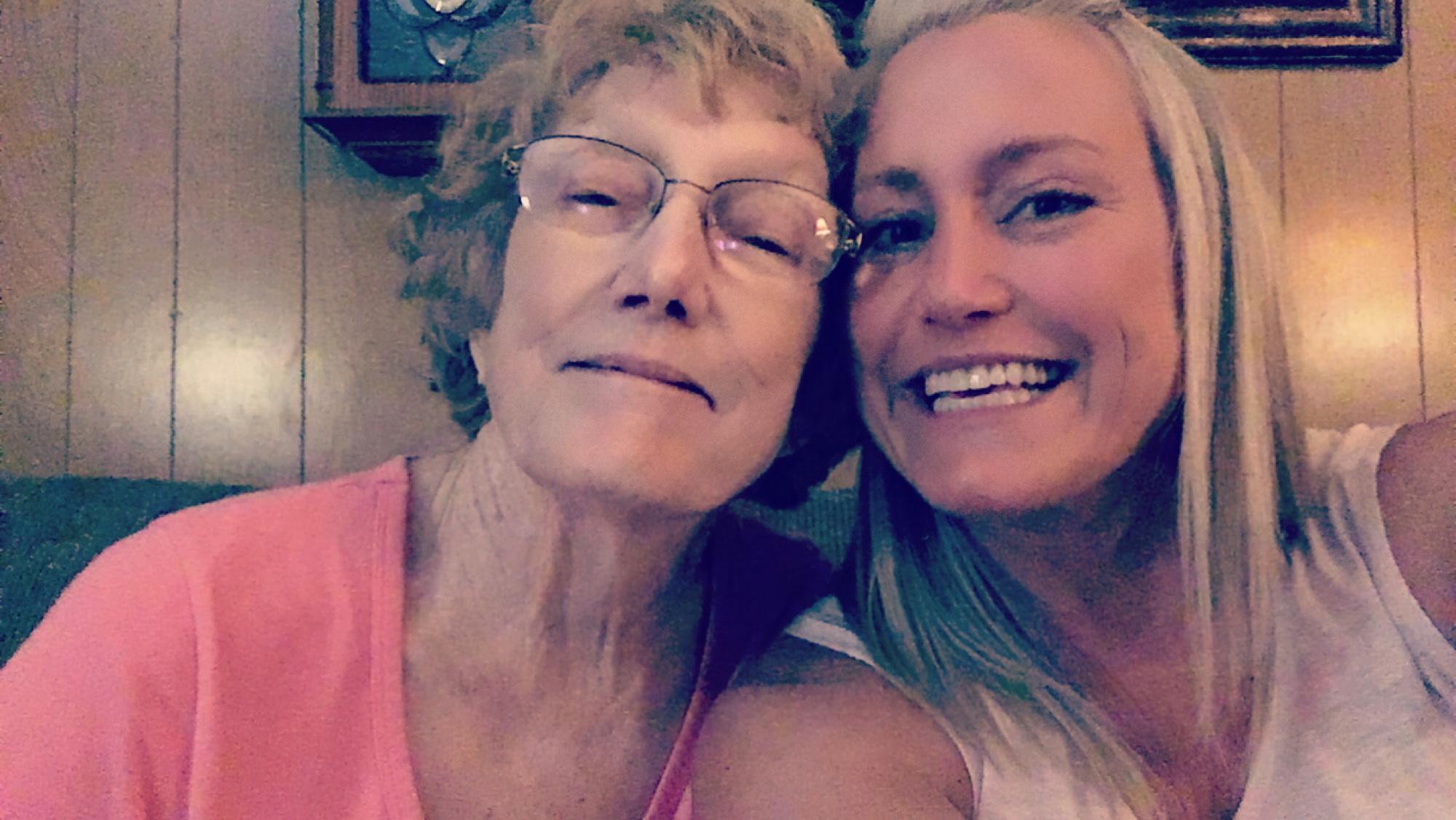 My Mama and me!