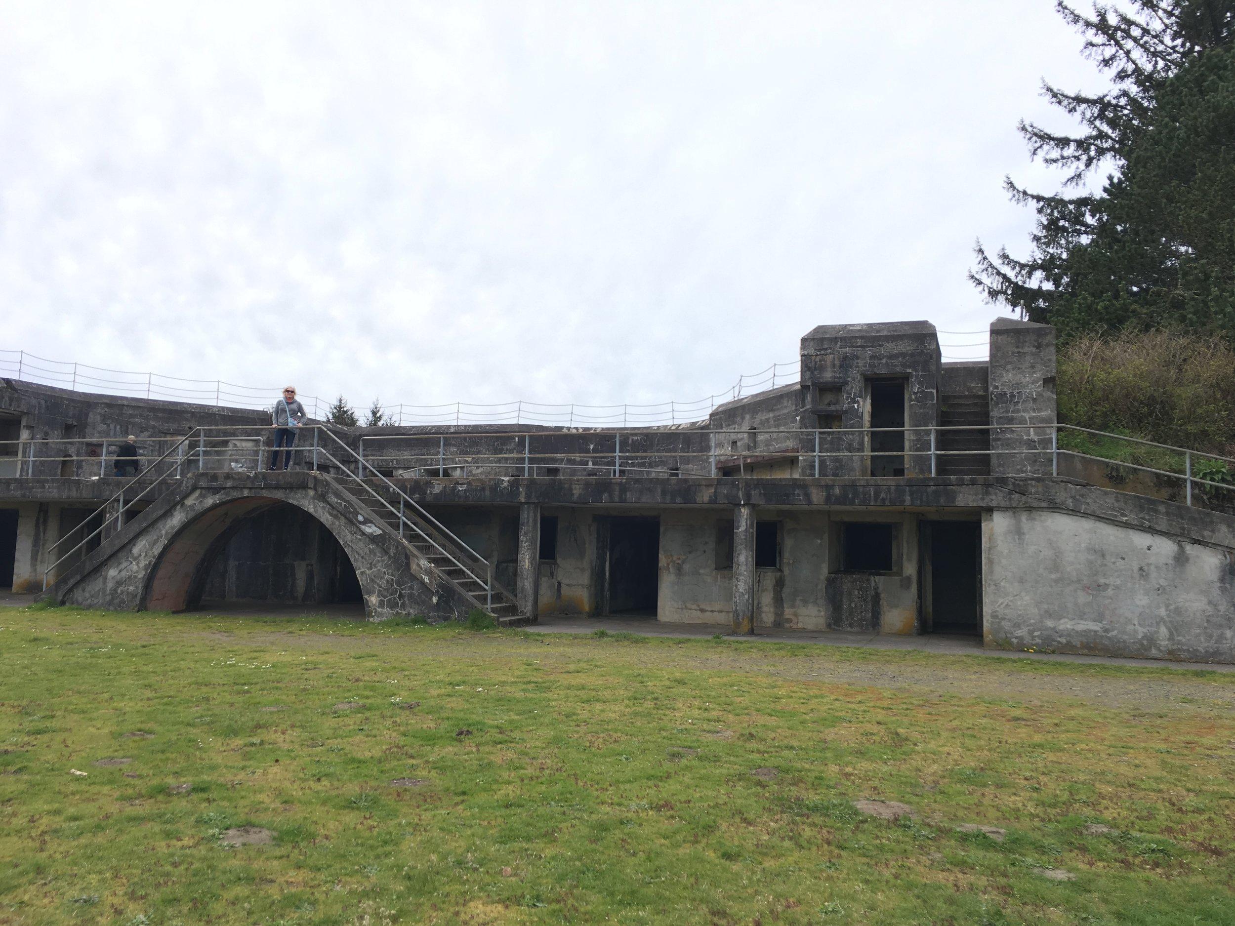 Fort Stevens, Oregon was built during the Civil War.