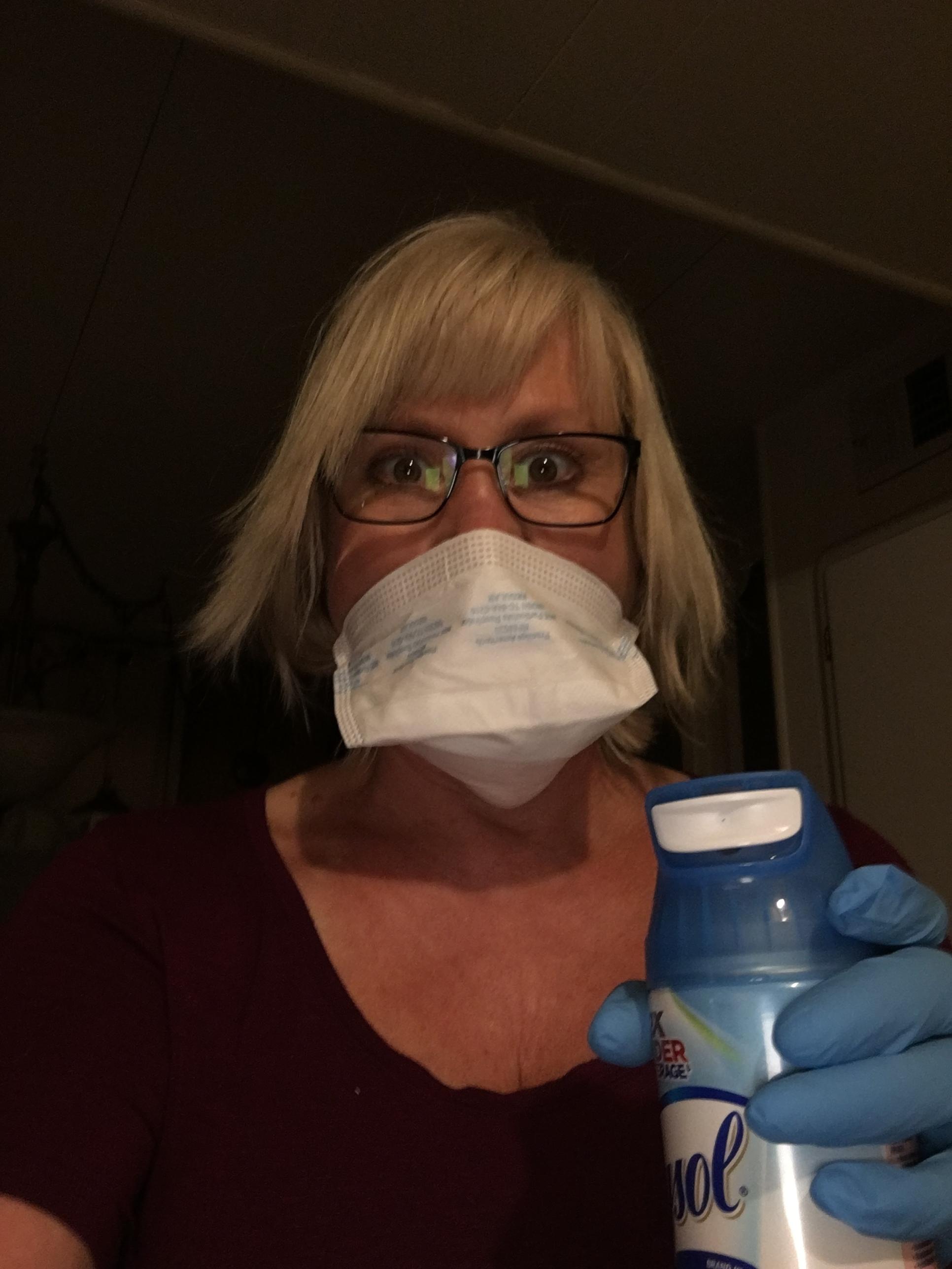 Germs everywhere!