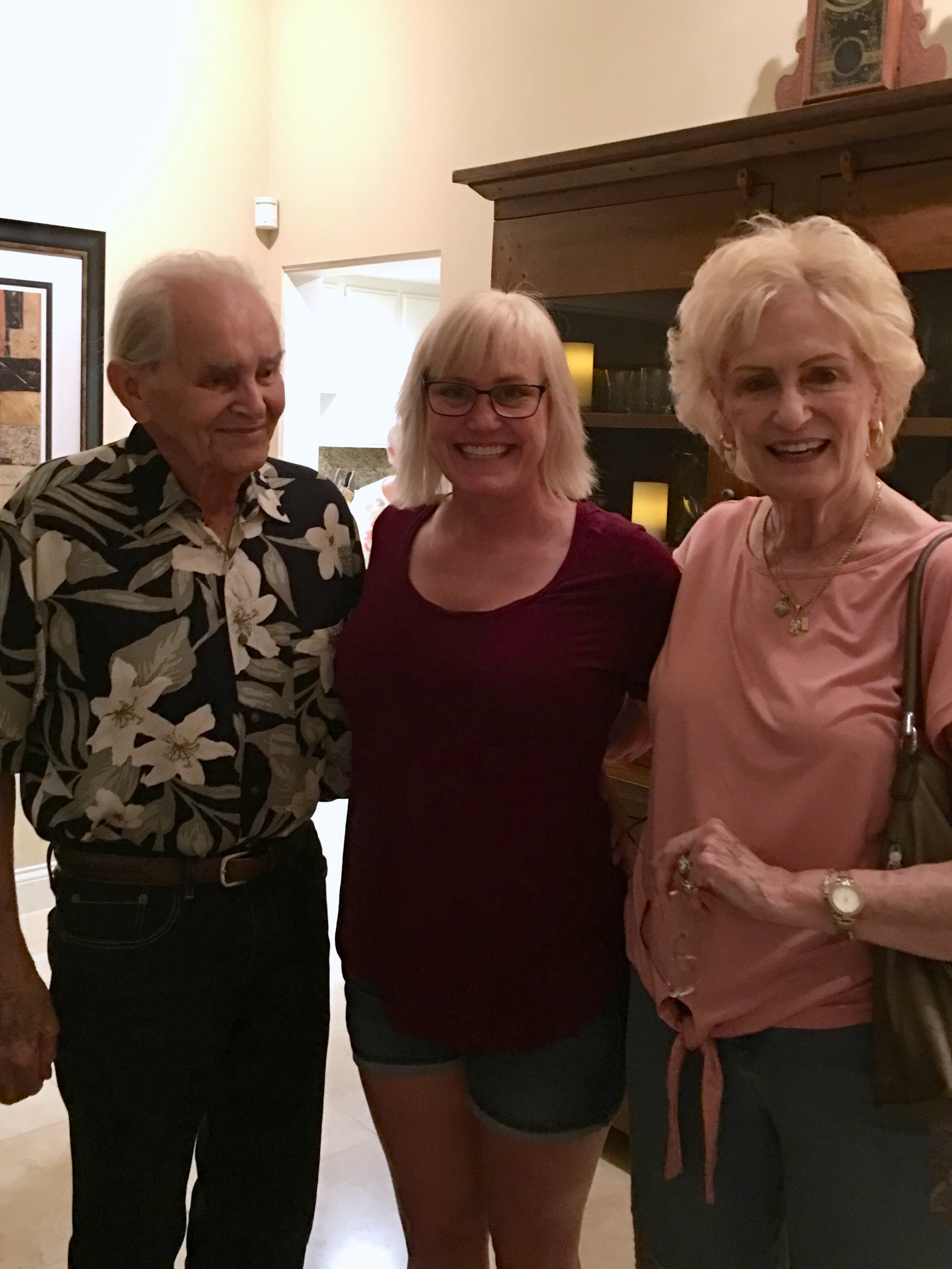 I never pass up an opportunity to see my dear friends, Alice and Don Clark. Always a good time!