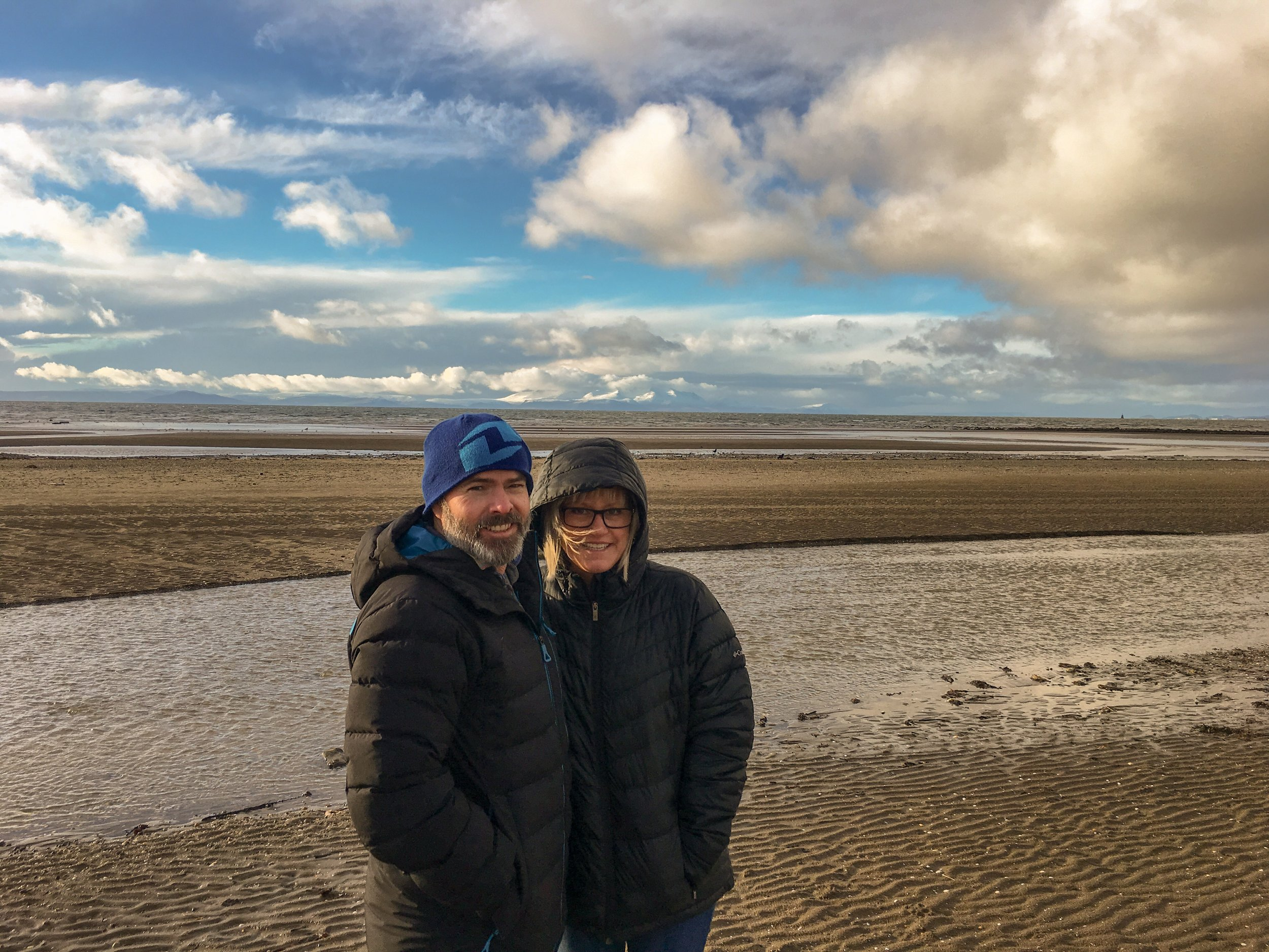 """There's not much to see in Troon on the west coast, but I wanted to go there to honor a long time client and friend, Hugh """"Scotty"""" Boyd that grew up there."""
