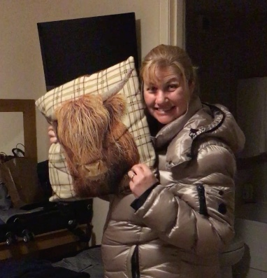 Where did you get that cool pillow, Cherilyn?