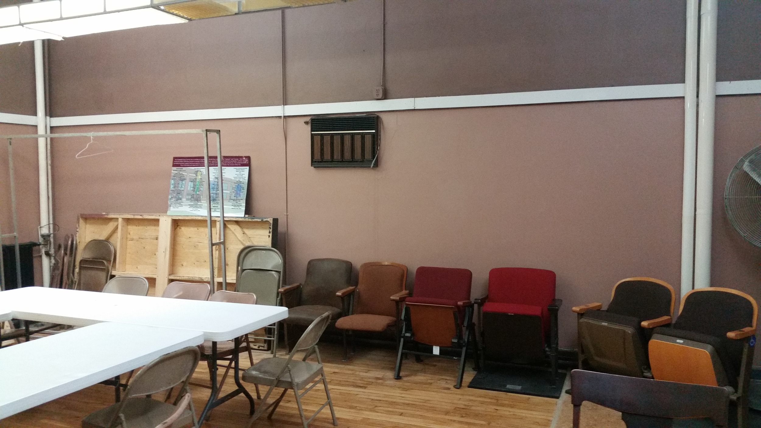 This is the future gallery space at Chatfield Center for the Arts