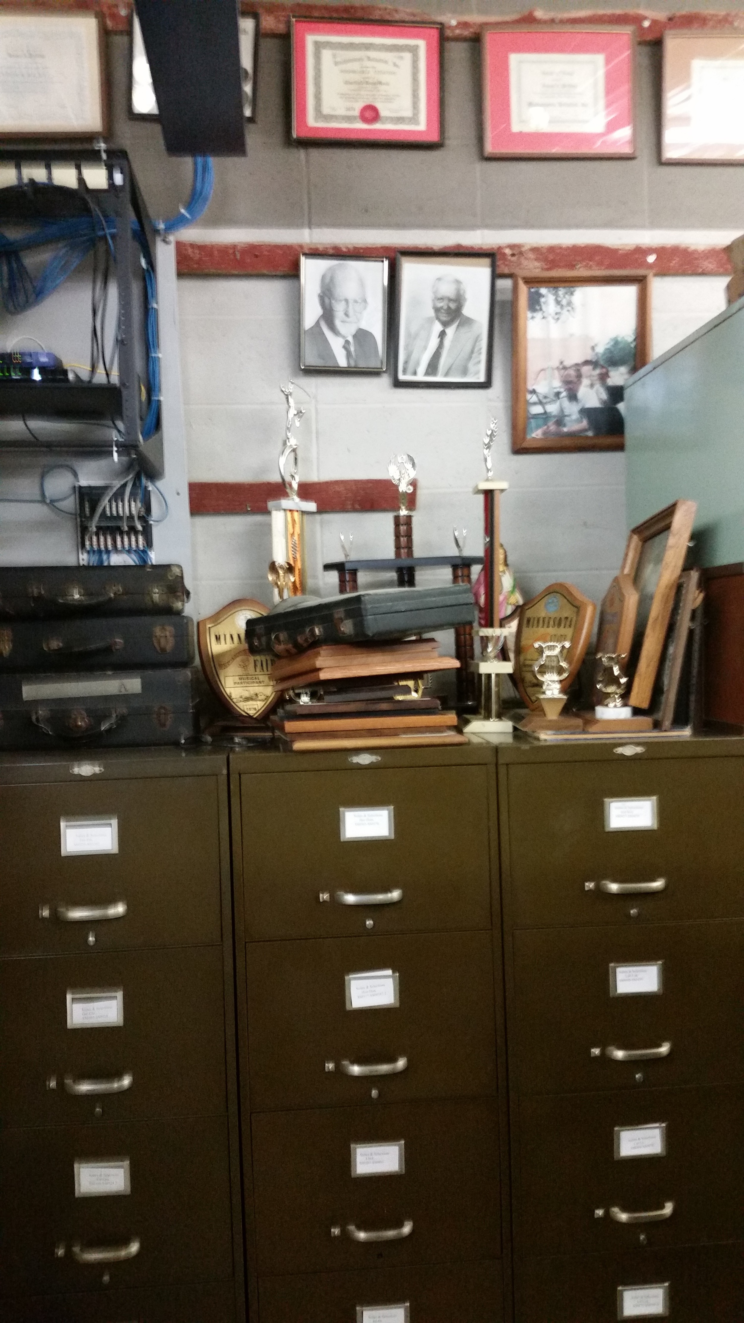 Chatfield Brass Band Lending Library