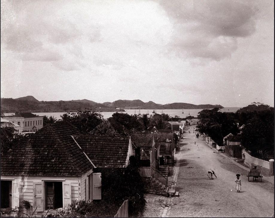 Newgate Street, Antigua - c.1902