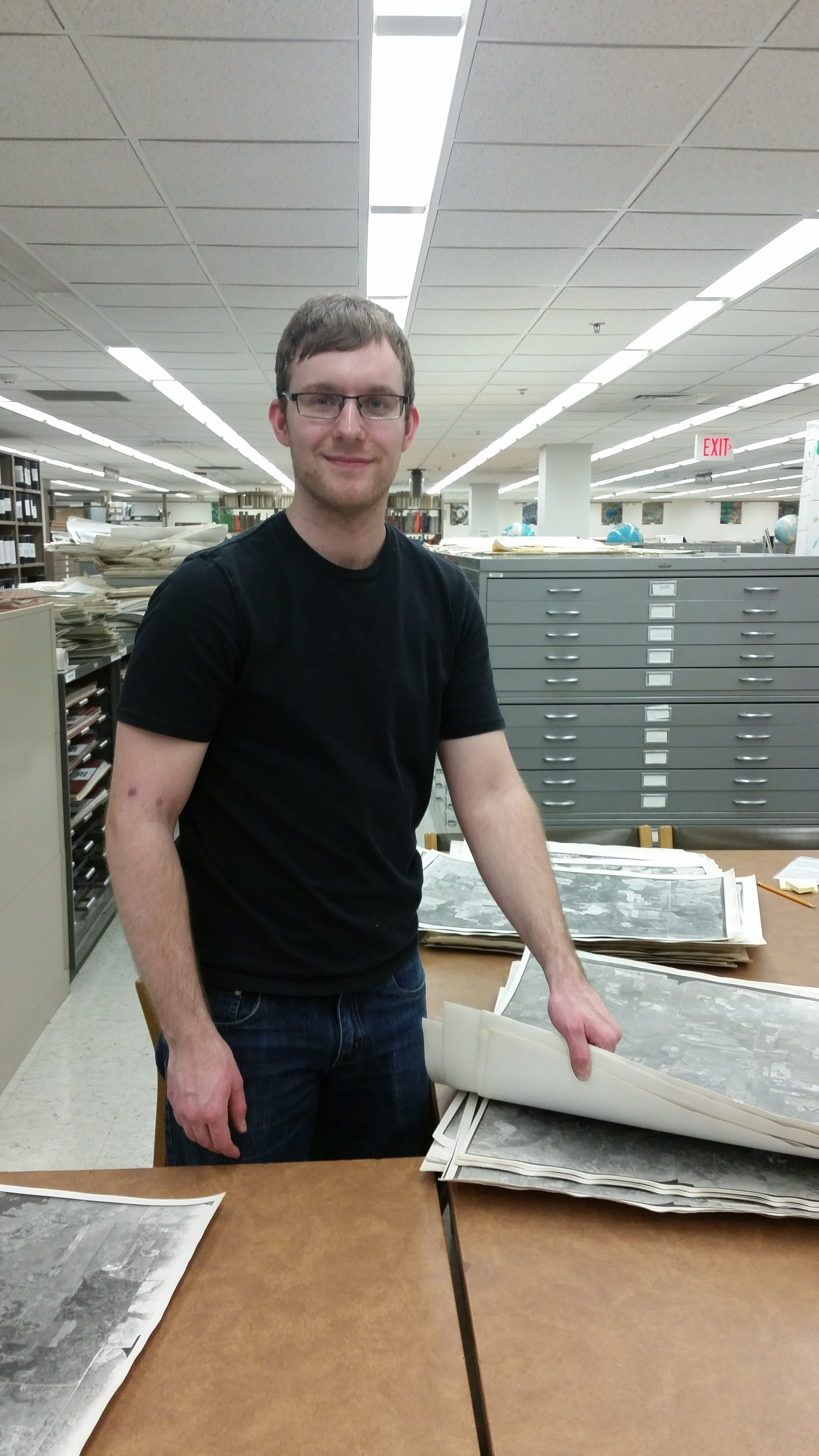 My man Nathaniel at the U of M map library was super helpful!