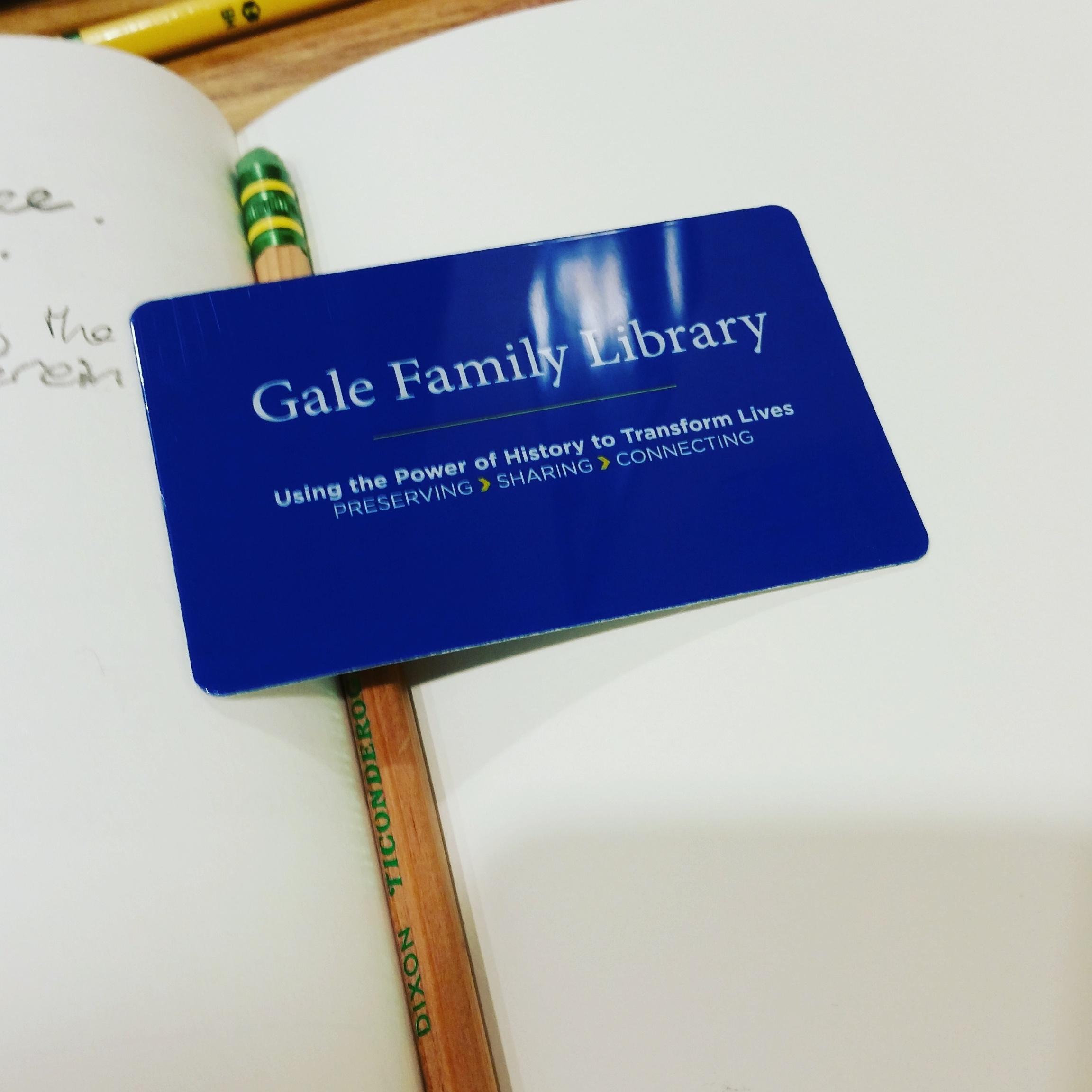 Got myself a new library card