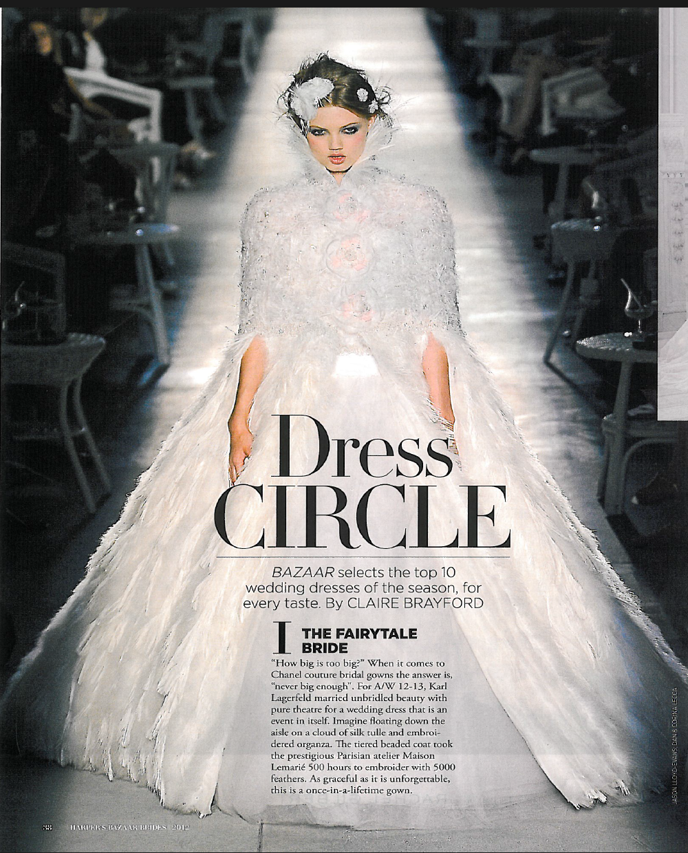 Harper's BAZAAR bridal supplement