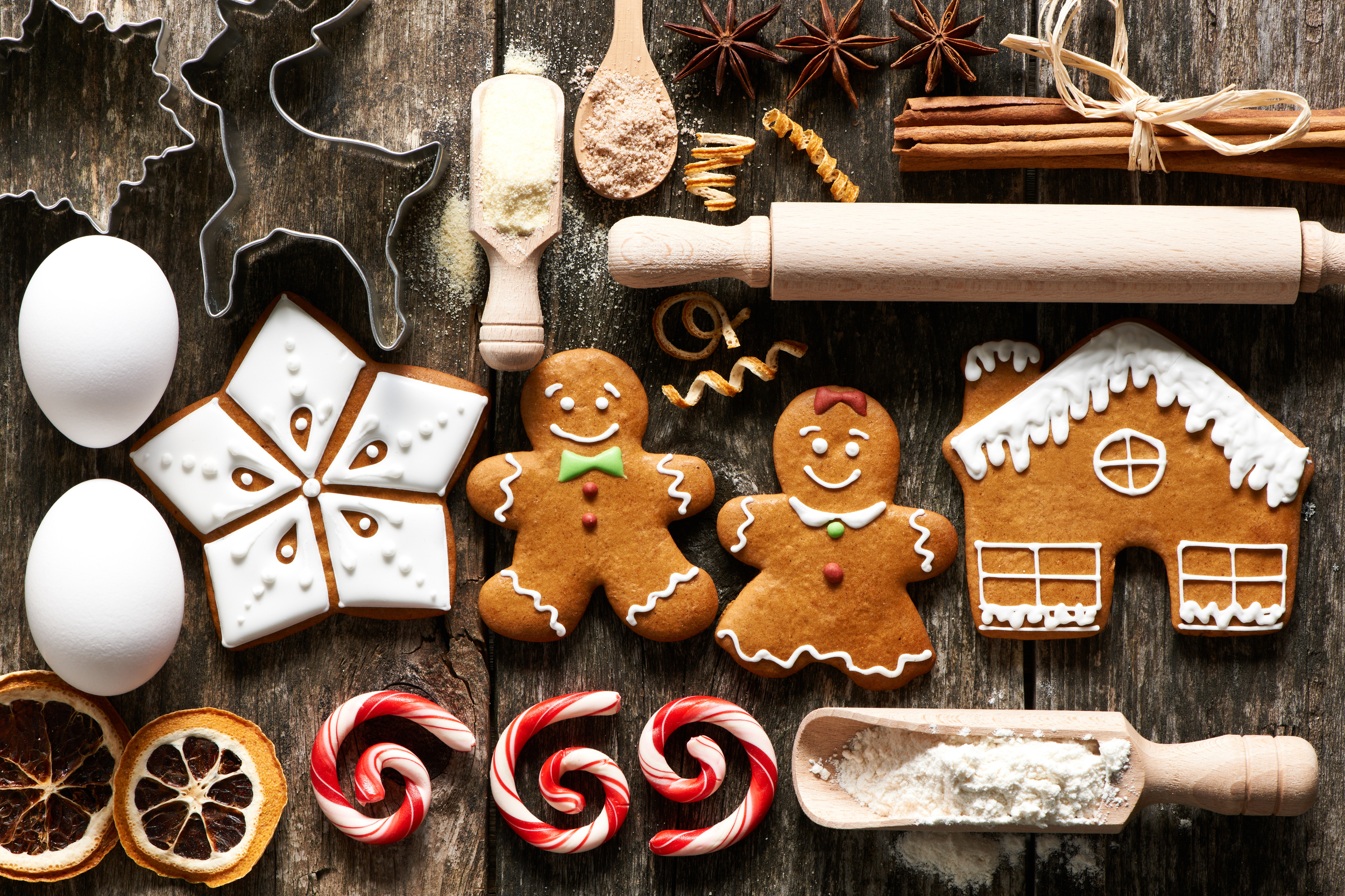 It's all in the gingerbread...