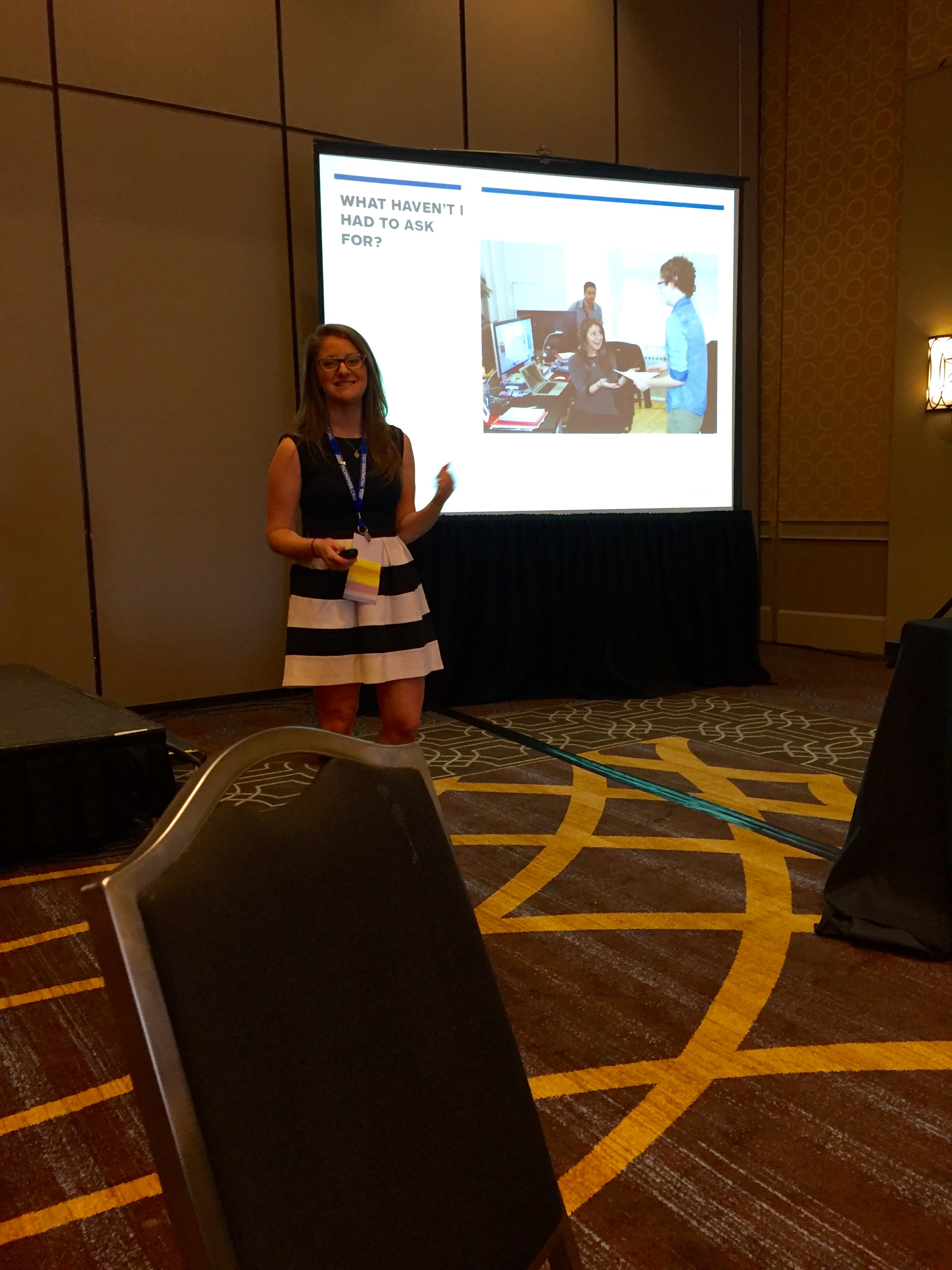 """Our very own, Jenna Weinerman, delivers an awesome education session titled, """"What's 'Omotenashi?' And How Can It Transform Your Brand?"""""""