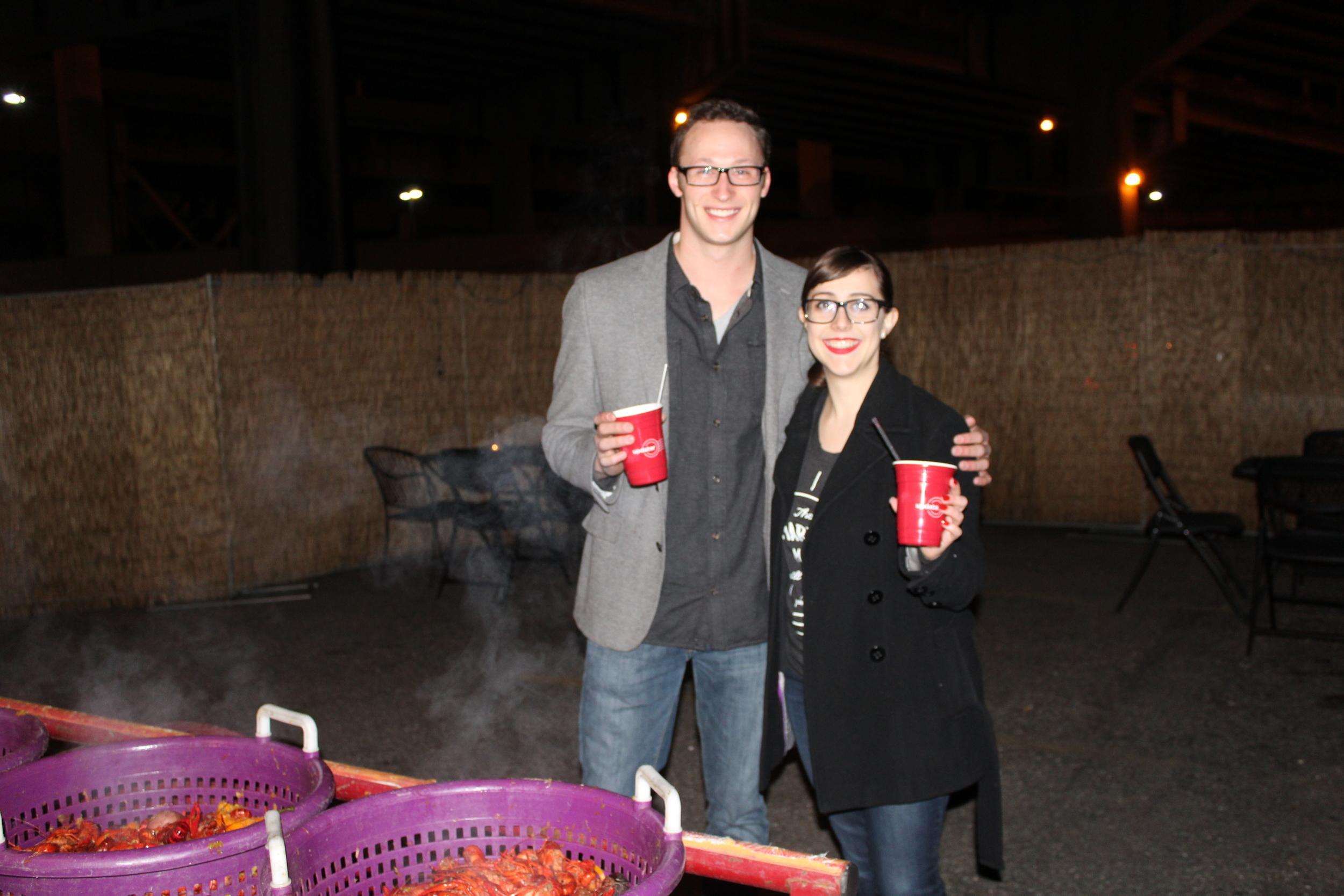 Updater Success Manager, Lauren Berry, with Scott Brzezinski of Shur-Way Moving & Cartage