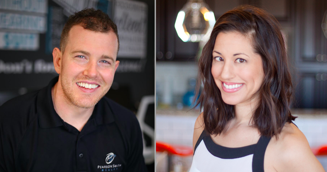 Eric Pearson, President & Founder, and Brooke Herron, Agent