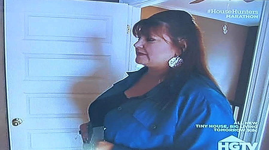 Kristine featured on an episode of House Hunters!