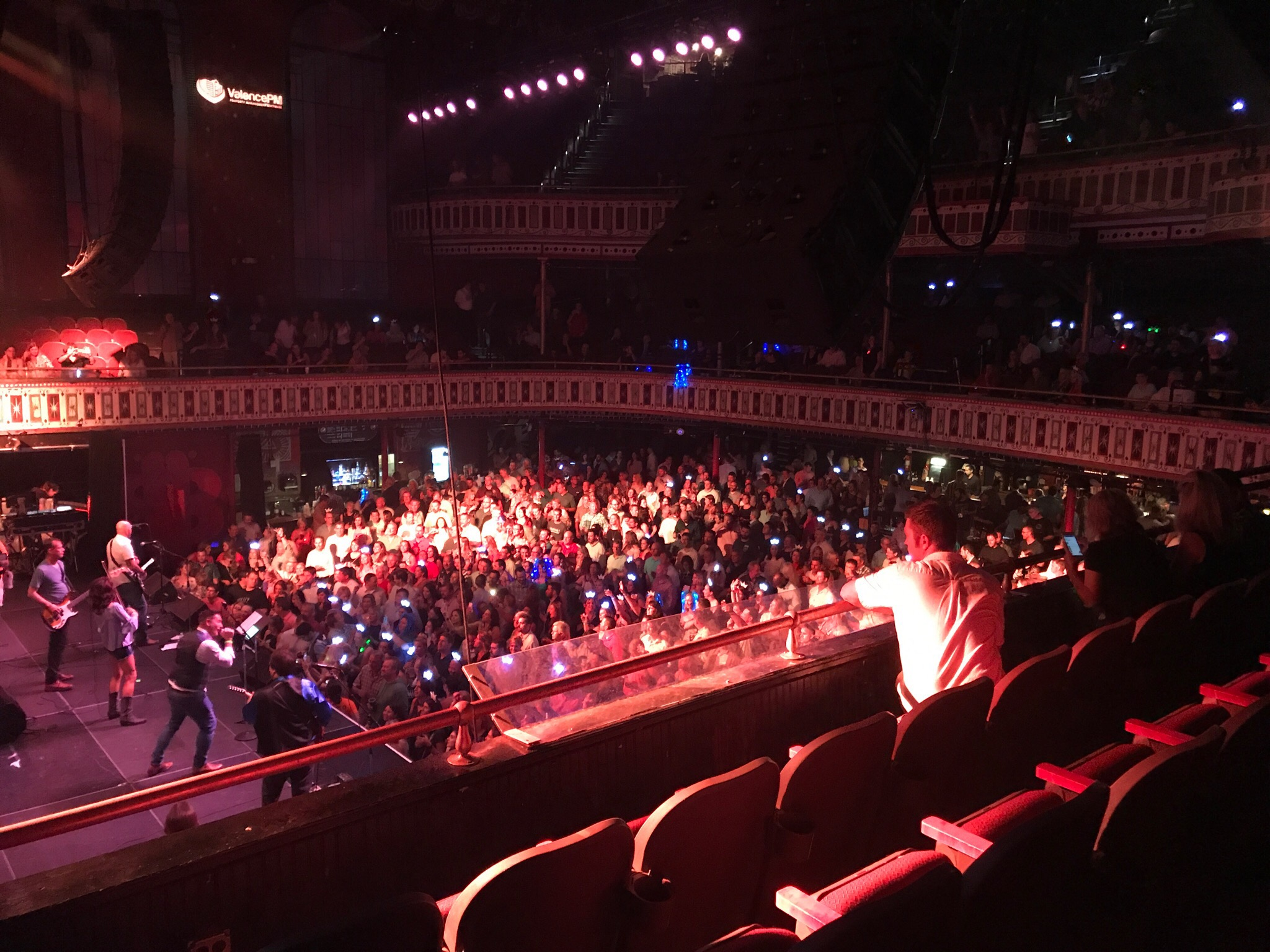 A full house (over 2,500 guests) at the 3 Dogwood Night concert at Tabernacle