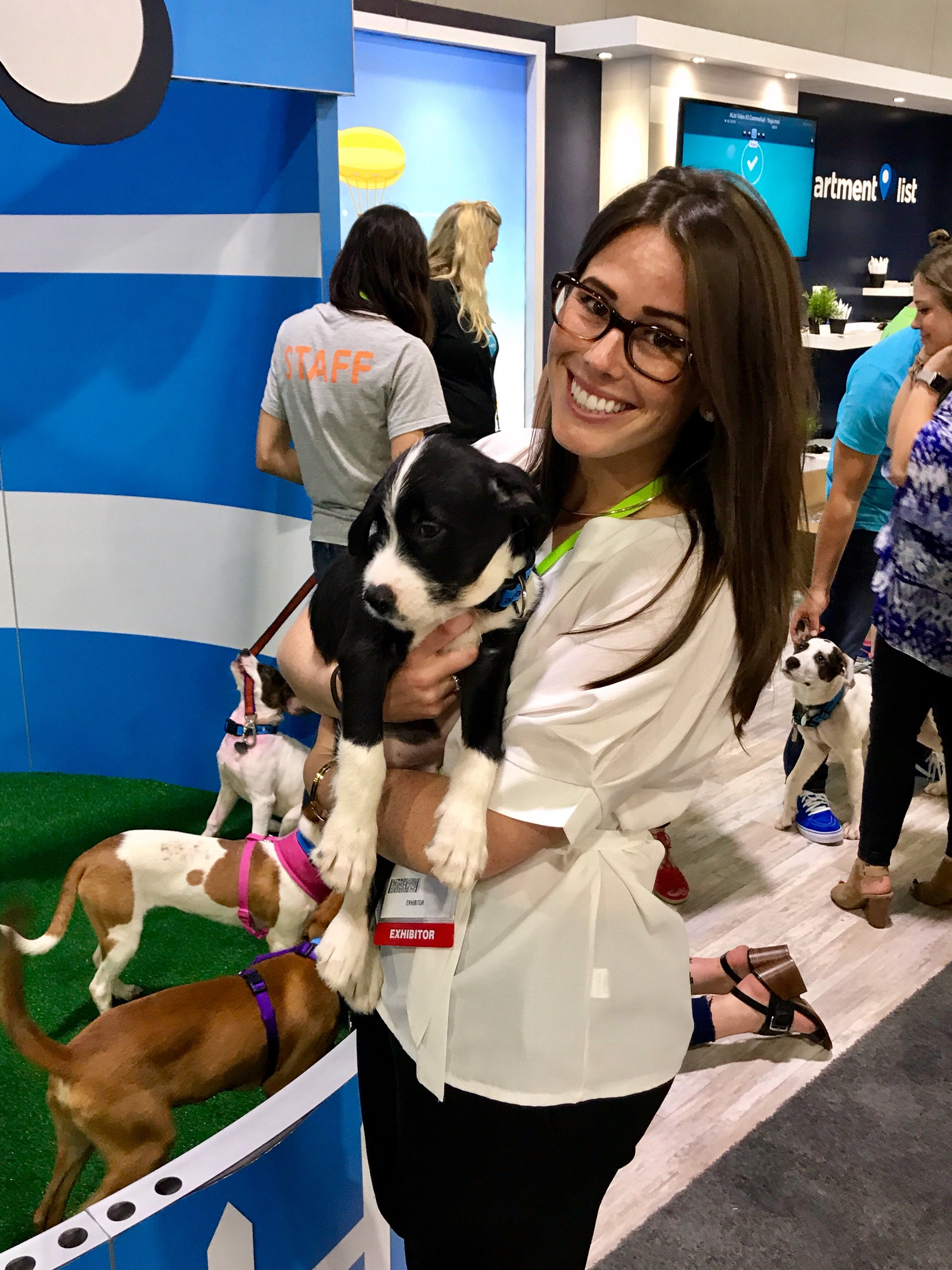 Puppies  and  multifamily? Yes, please!