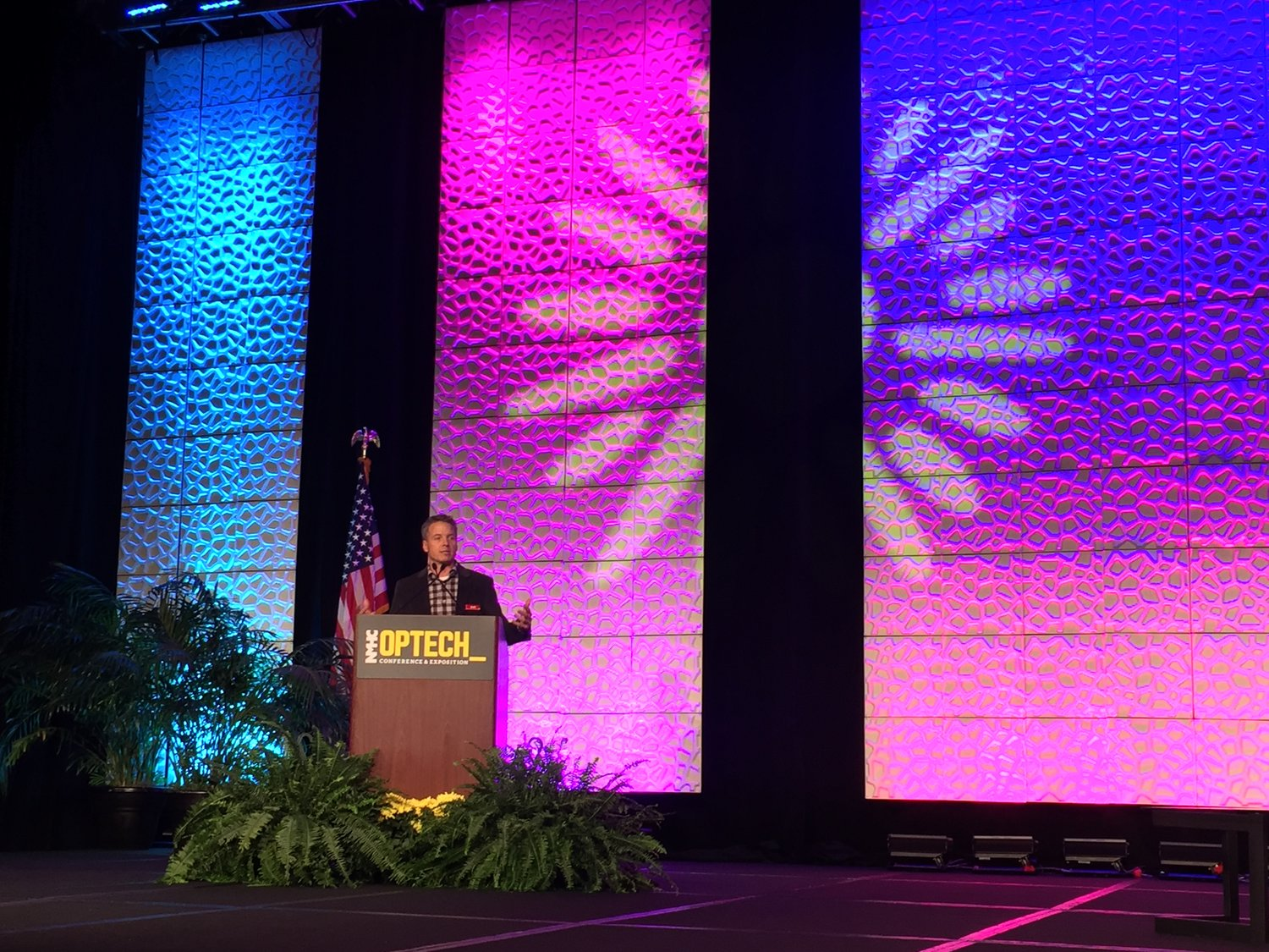 Ash speaking at NMHC OPTECH 2016