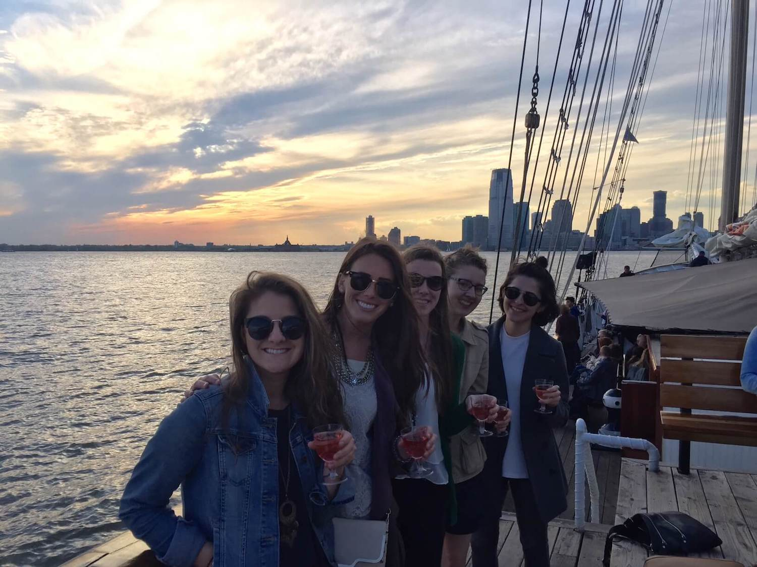 boat sunset -  how to land an internship at updater
