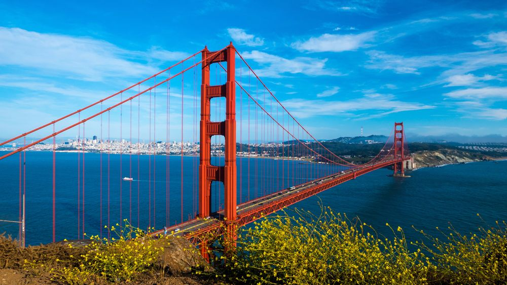 Golden Gate Bridge - moving trends