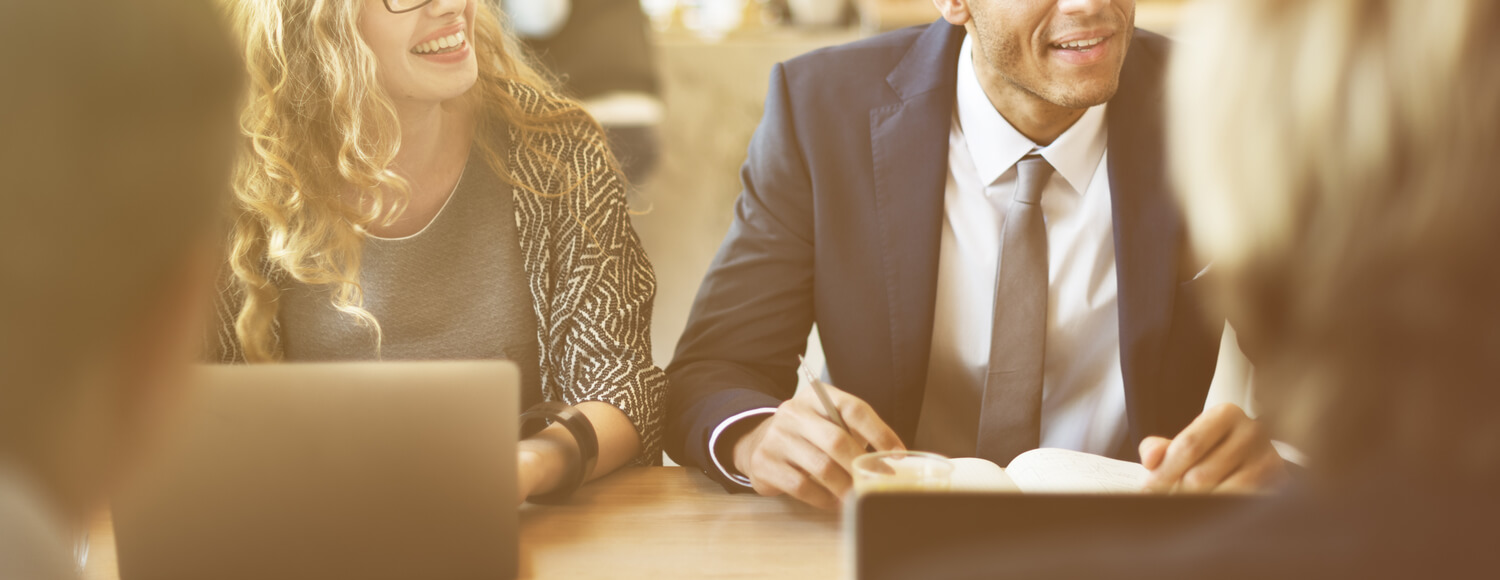 man and woman business - how real estate brokerages recruit agents