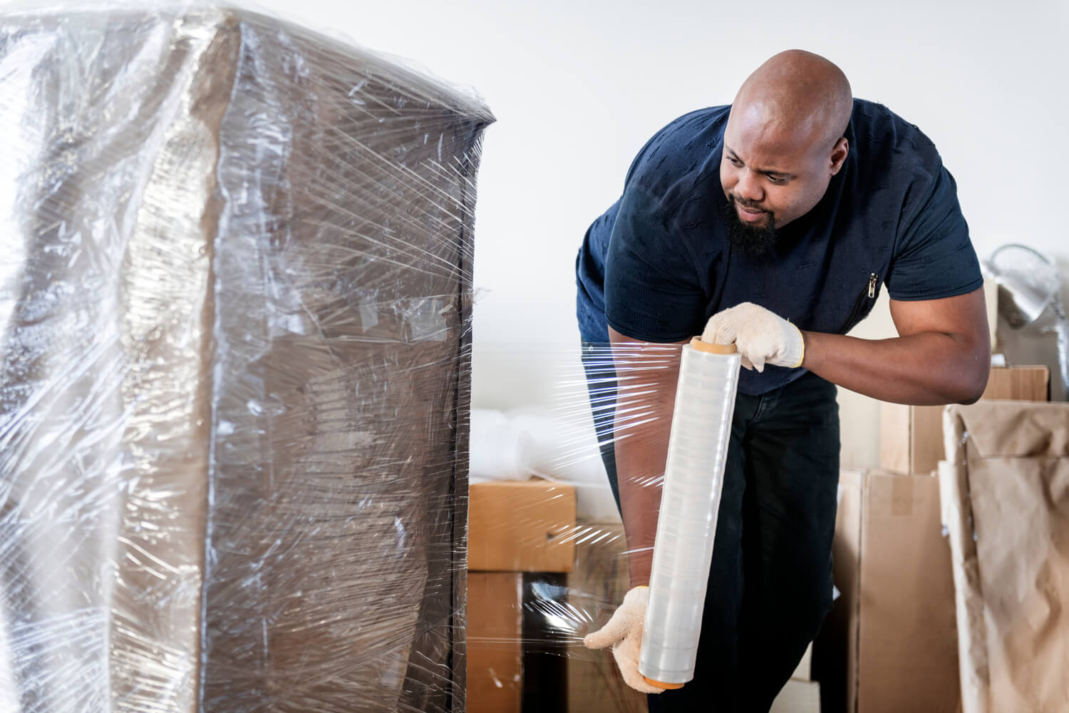 man moving - residents between approval and move-in