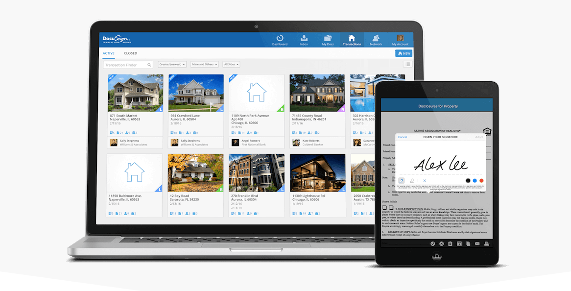docusign - best-apps-for-real-estate-agents