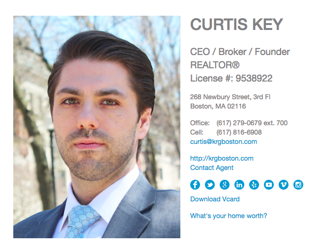 Curtis Key      of Key Realty Group Boston