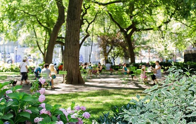 We love summers in the square!  #updater #nyc #tech #summerinnyc #unionsquare #summervibes #summertime