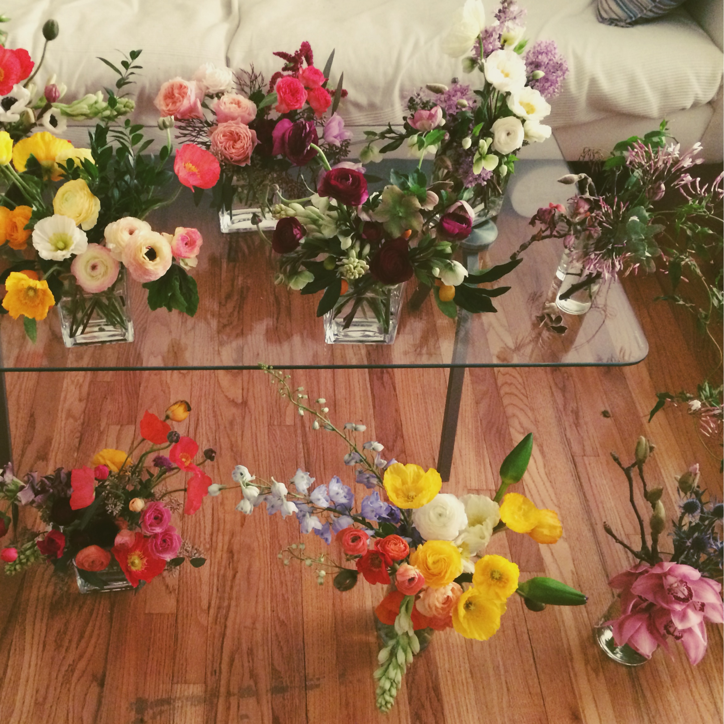 #gettingready #morningof #flowersflowersflowers