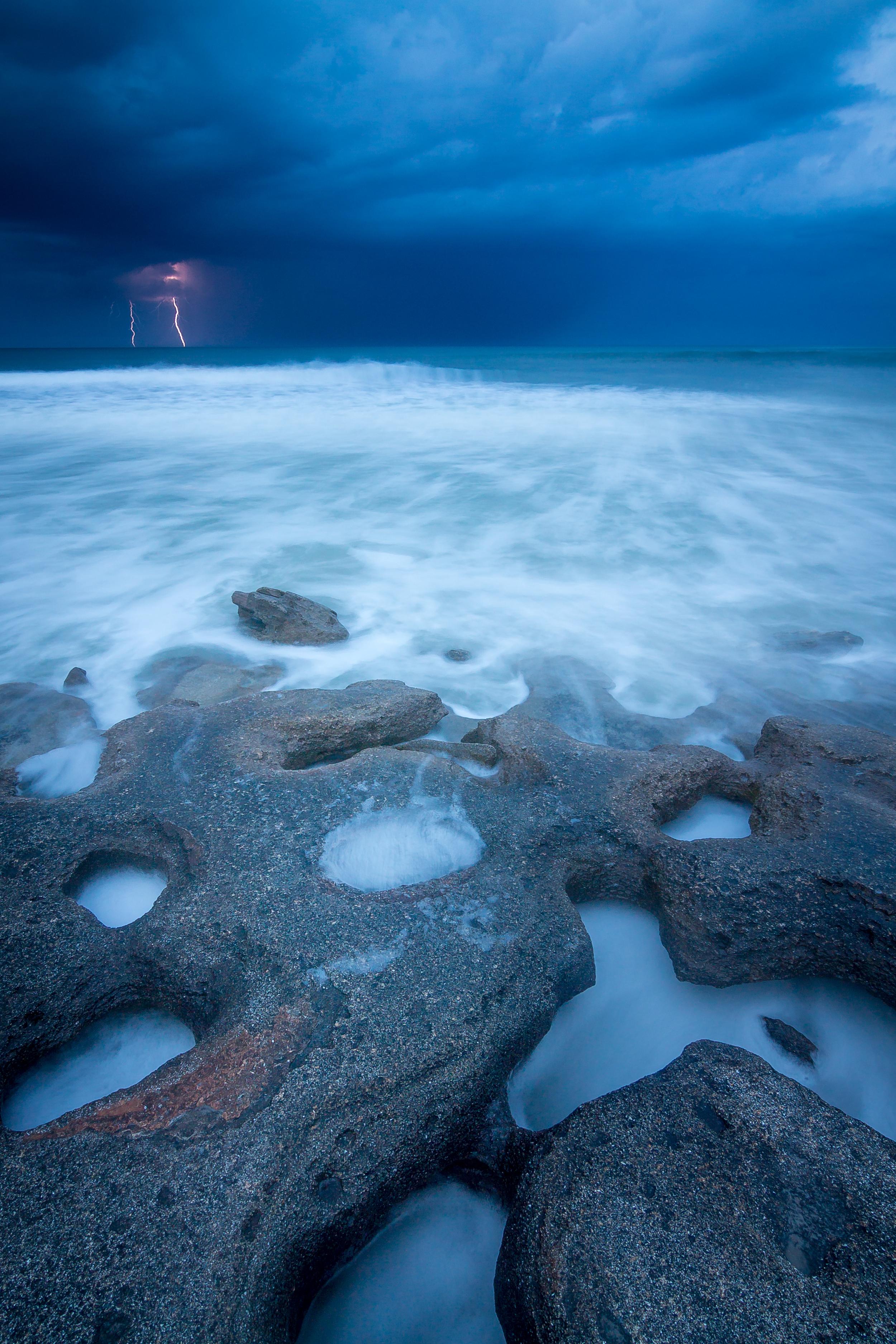 7 Stormy Seas at Washington Oaks