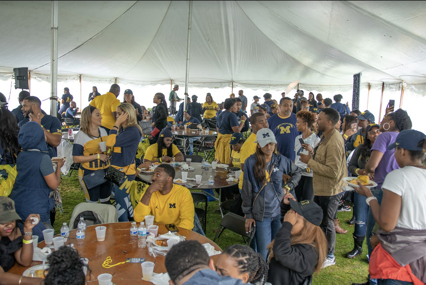 Saturday October 5, 2019   Tailgate/Watch Party : 10 AM - 4 PM  Ferry Field (Behind IM Building) | Ann Arbor, MI 48109