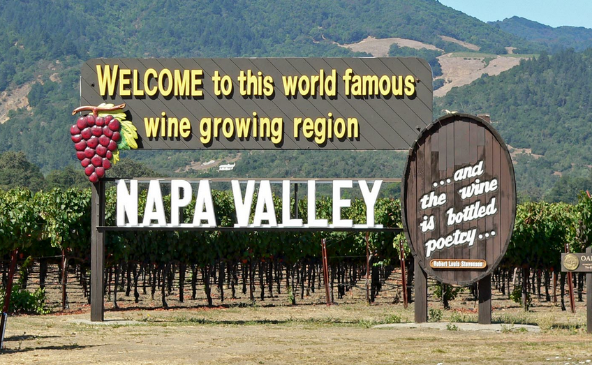 welcome to Napa