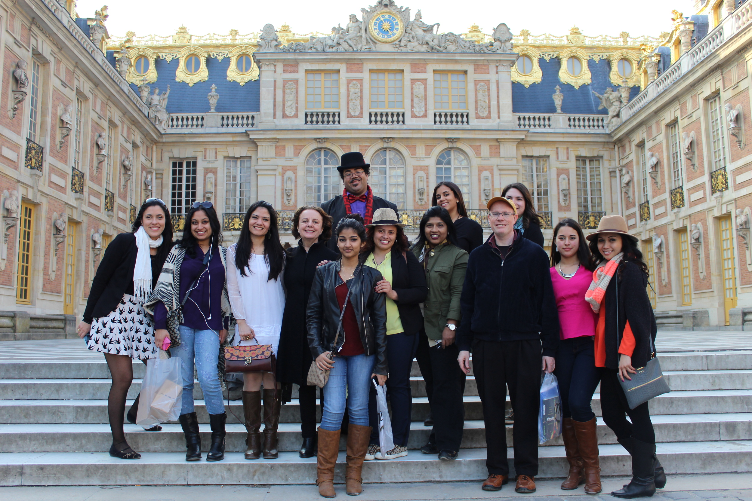 Vera Dika at NJCU Student Trip to Paris, 2014