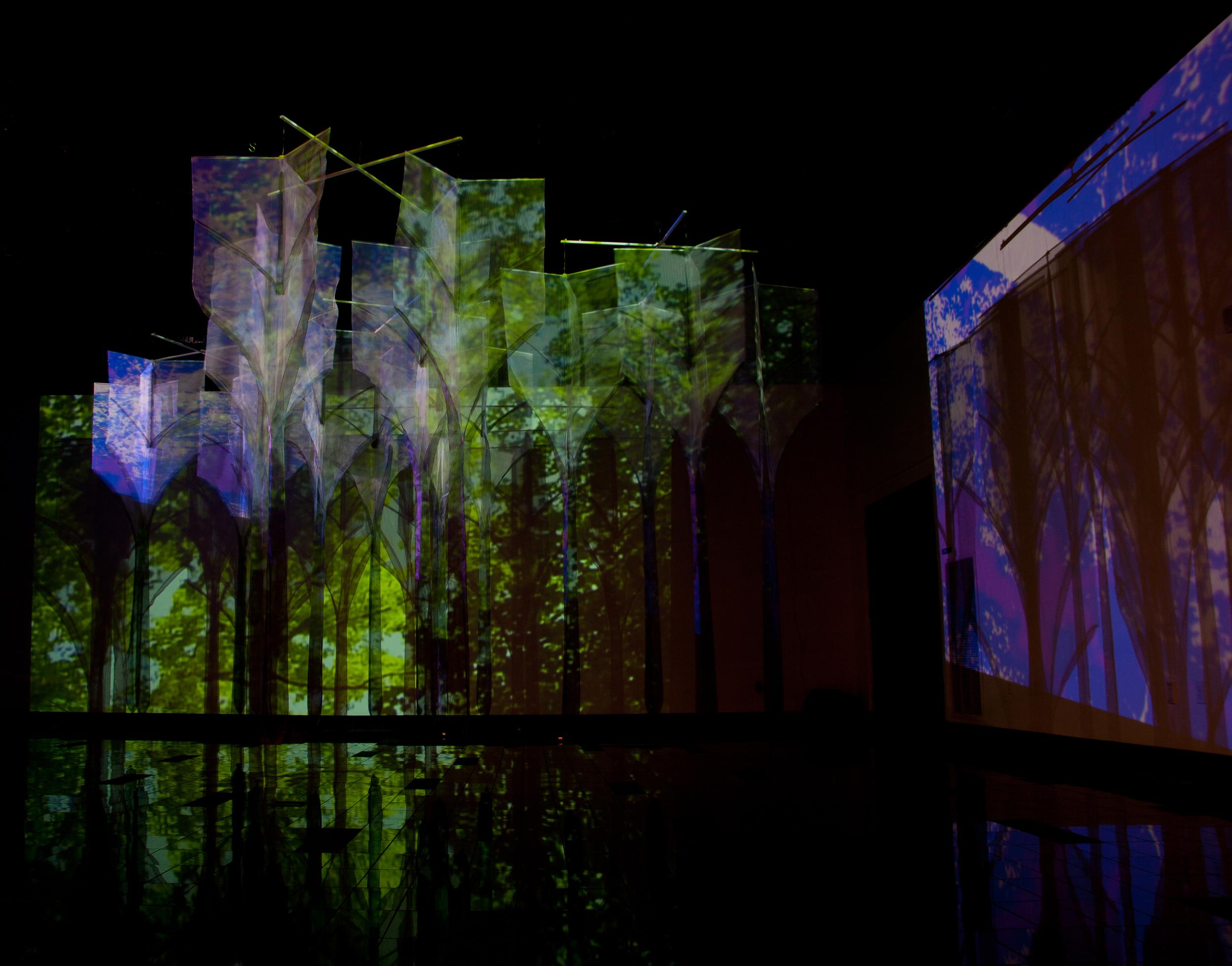 Gothic Forest installation