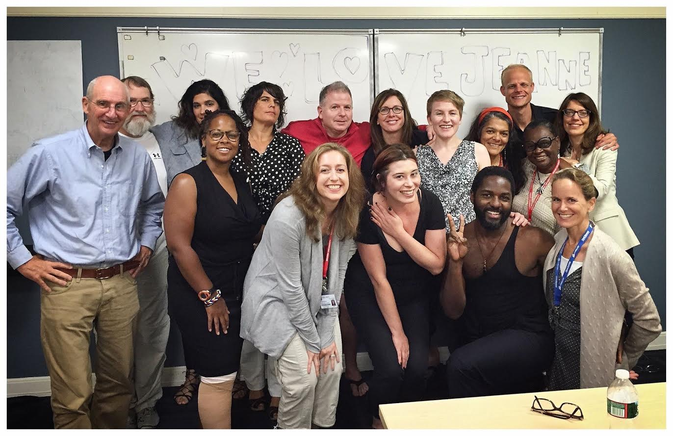 Cohort '13, along with Faculty Christopher Yates, Simonetta Moro and George Smith, Brown University, 2015.