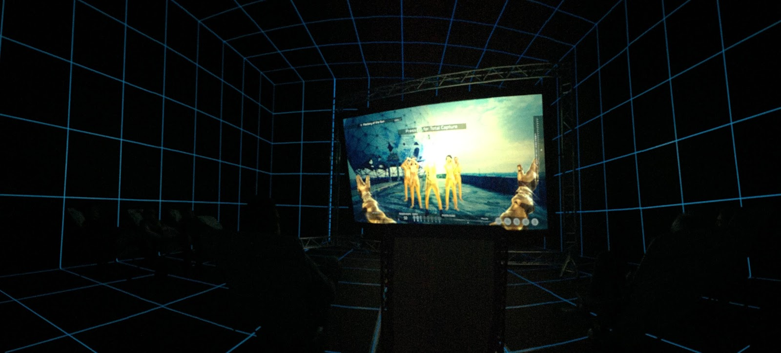 Factory of The Sun , 2015, Hito Steyerl. Photo by Laila Kouri