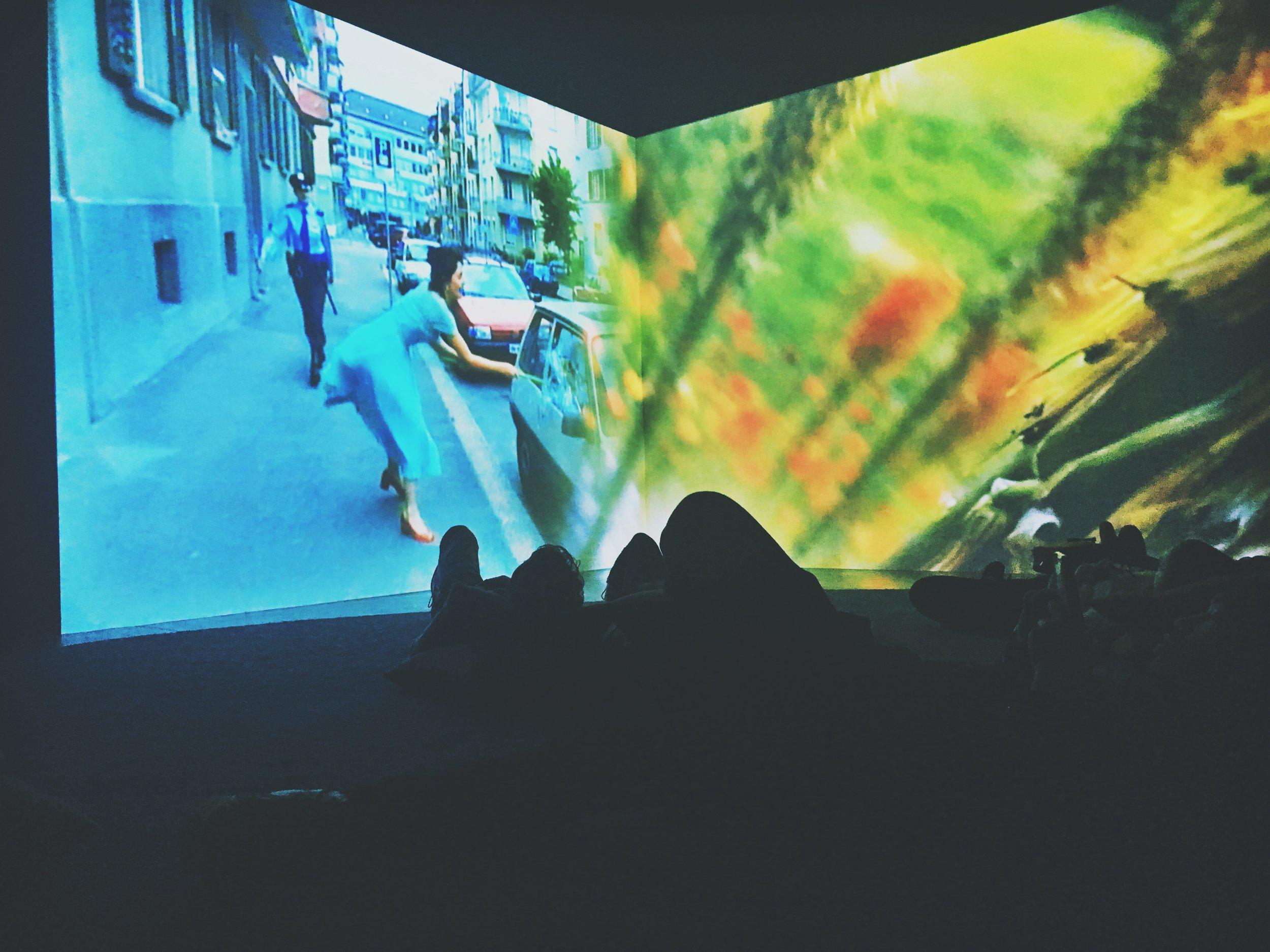 Ever is Over All , 1997, Pipilotti Rist. Photo by Jonathan Morgan