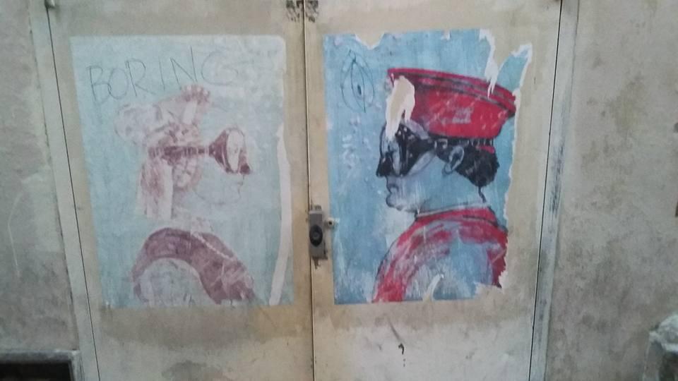 I talian Street Art in Venice  Photo Credit: Ana Fernandez