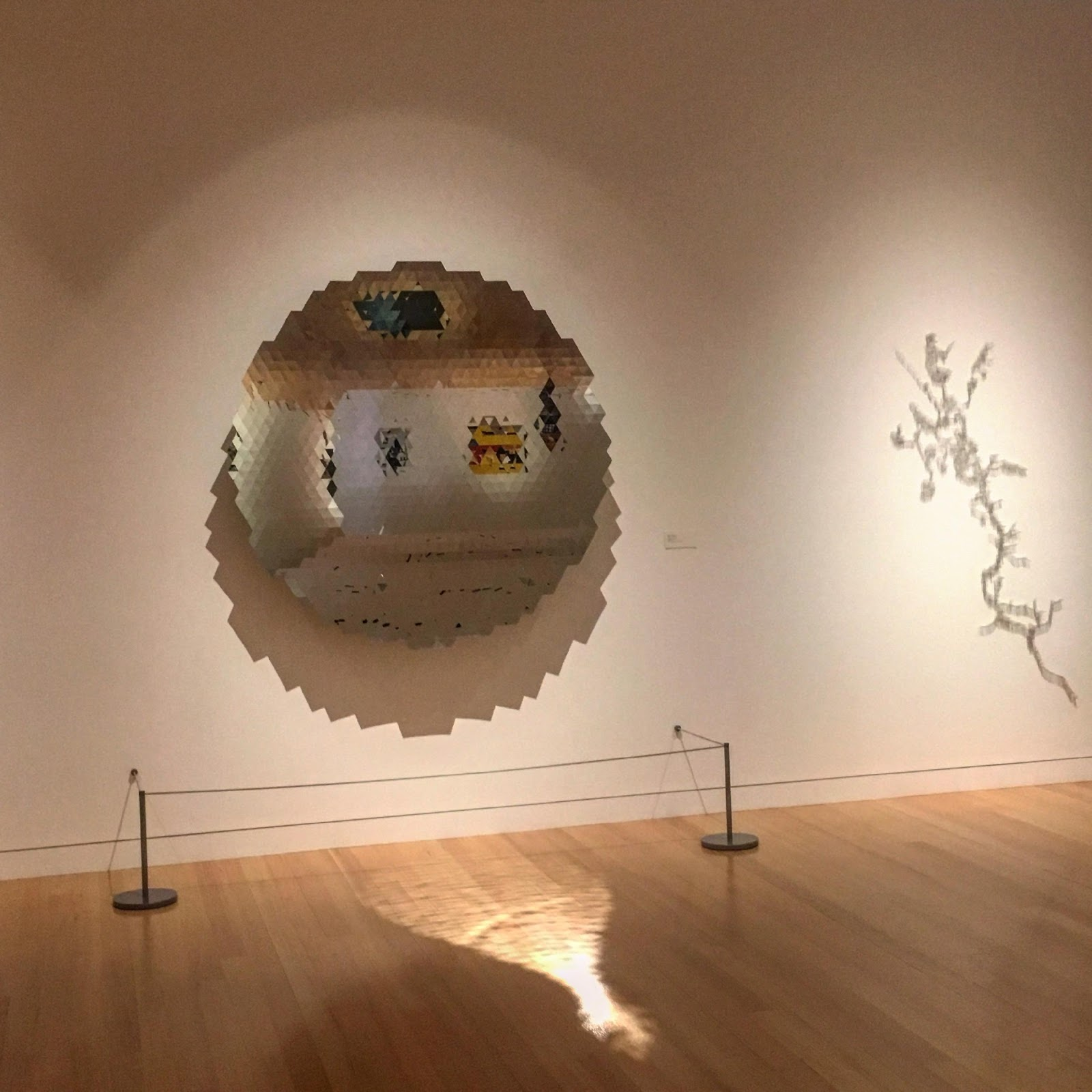 Image of  Untitled , 2010 by Anish Kapoor. Colby College Museum of Art. Photo by Poppy Gauss
