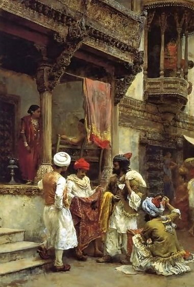 The Silk Merchants  by Edwin Lord Weeks.  Image Source