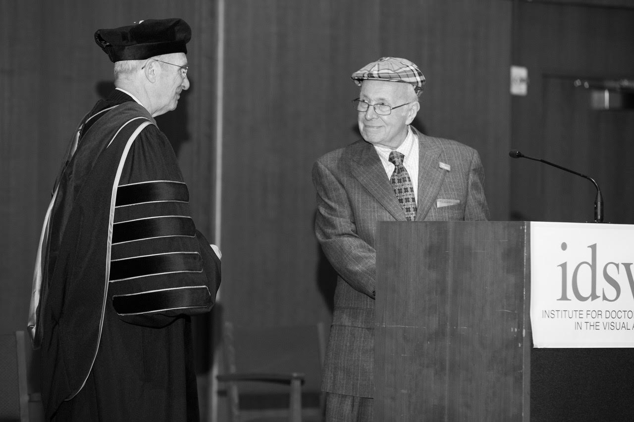 Edgar (Ted) Coons and Dr. George Smith, IDSVA Commencement 2019