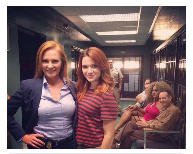 Katie on the series finale of CSI!