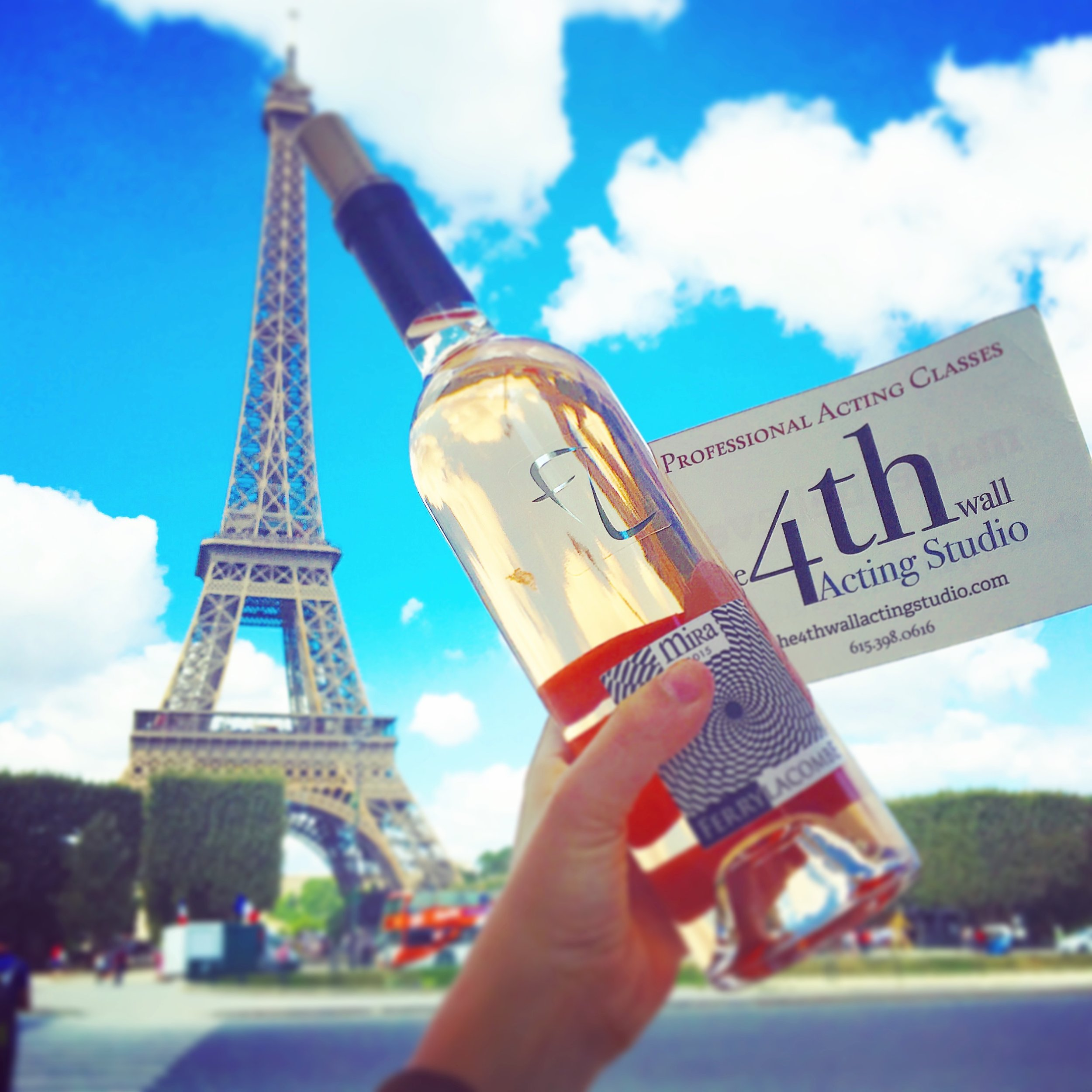We made it to Paris!