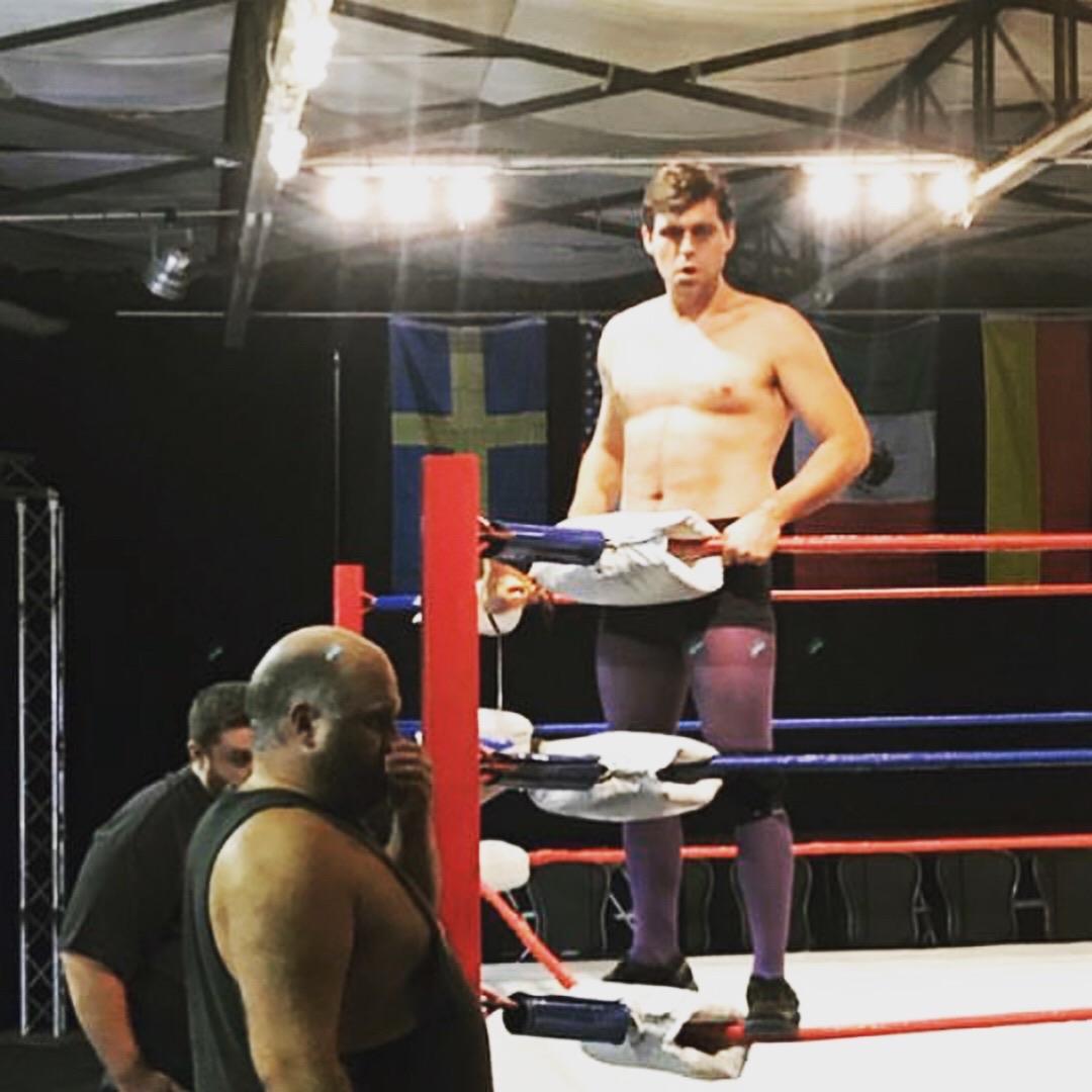 Behind the scenes with James David!
