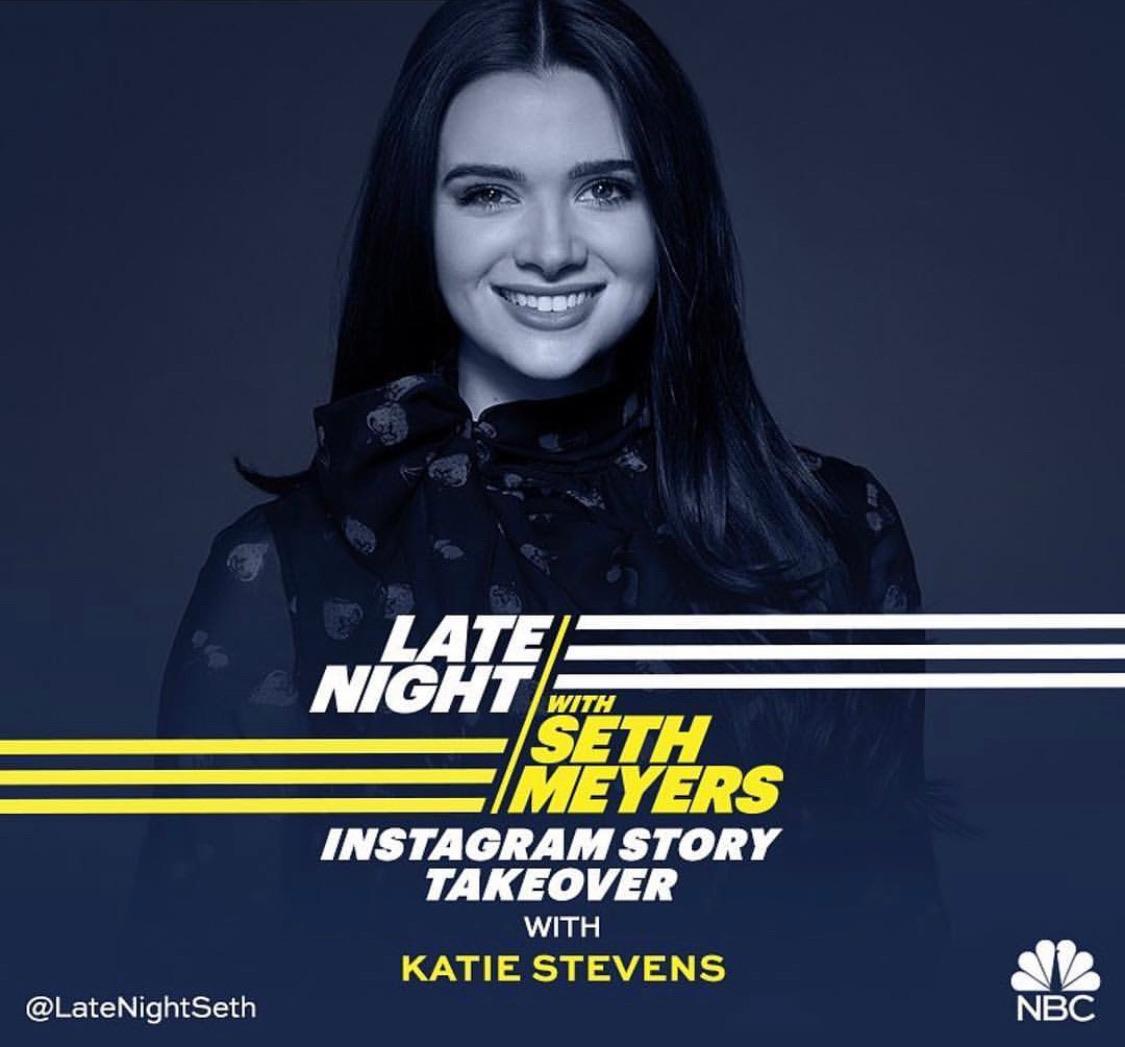 Katie taking over twitter!