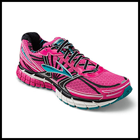 BROOKS WOMEN'S ADRENALINE GTS 14 RUNNING SHOE  Named Editor's Choice in  Runner's World  magazine at the end of 2013.