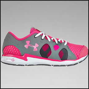 UNDER ARMOUR WOMEN'S NEO MANTIS RUNNING SHOES  Super breathable mesh, and a lightweight responsive ride.
